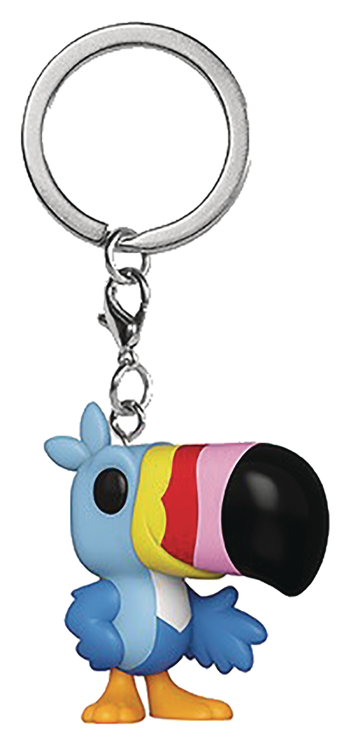POCKET POP AD ICONS TOUCAN SAM FIG KEYCHAIN