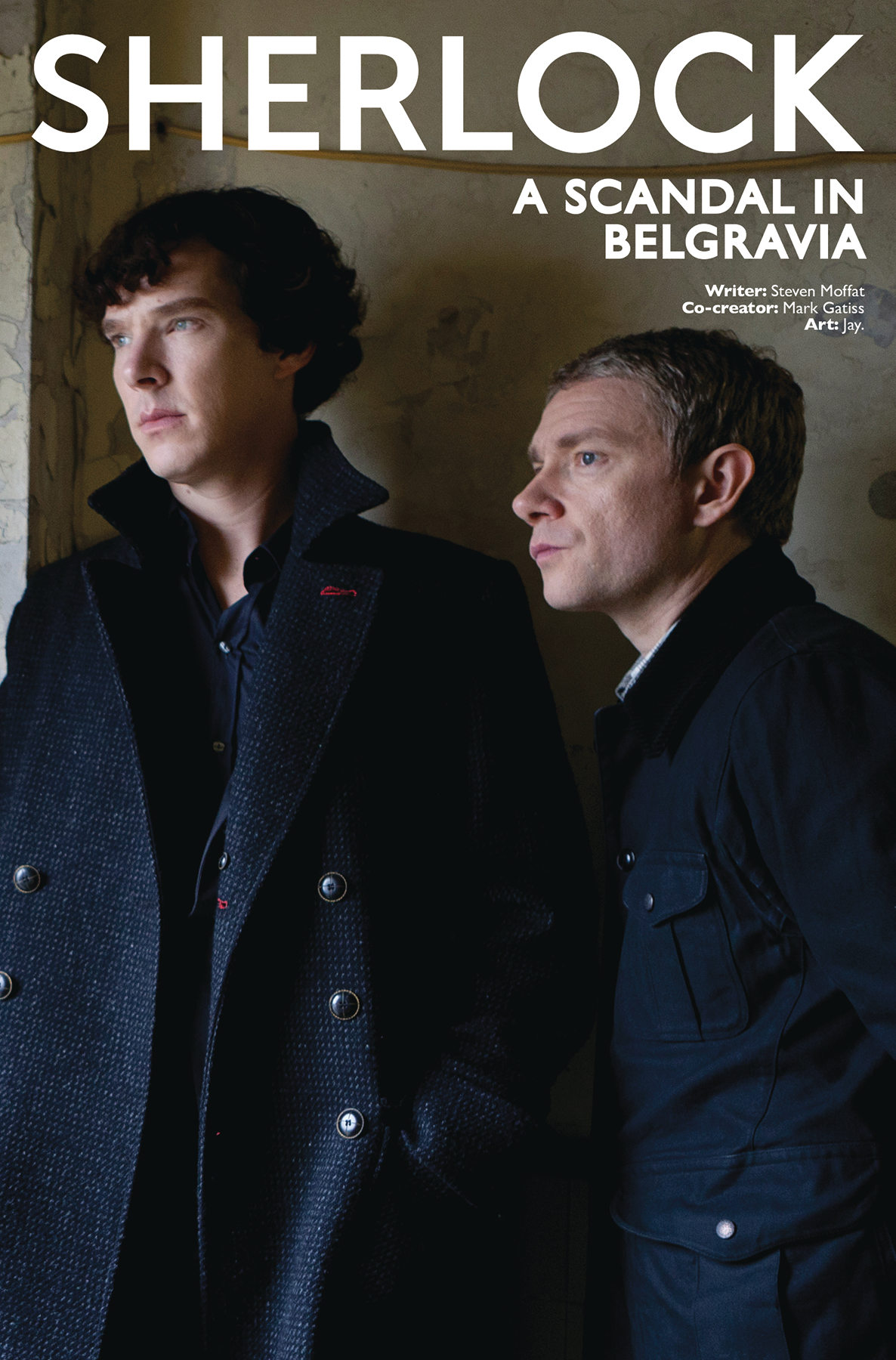 SHERLOCK SCANDAL IN BELGRAVIA #4 CVR B PHOTO