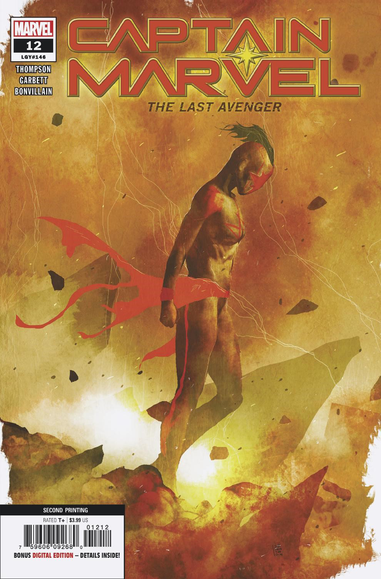CAPTAIN MARVEL #12 2ND PTG SORRENTINO VAR