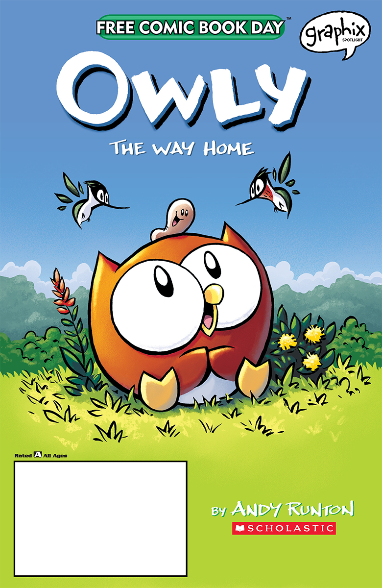 FCBD 2020 OWLY THE WAY HOME