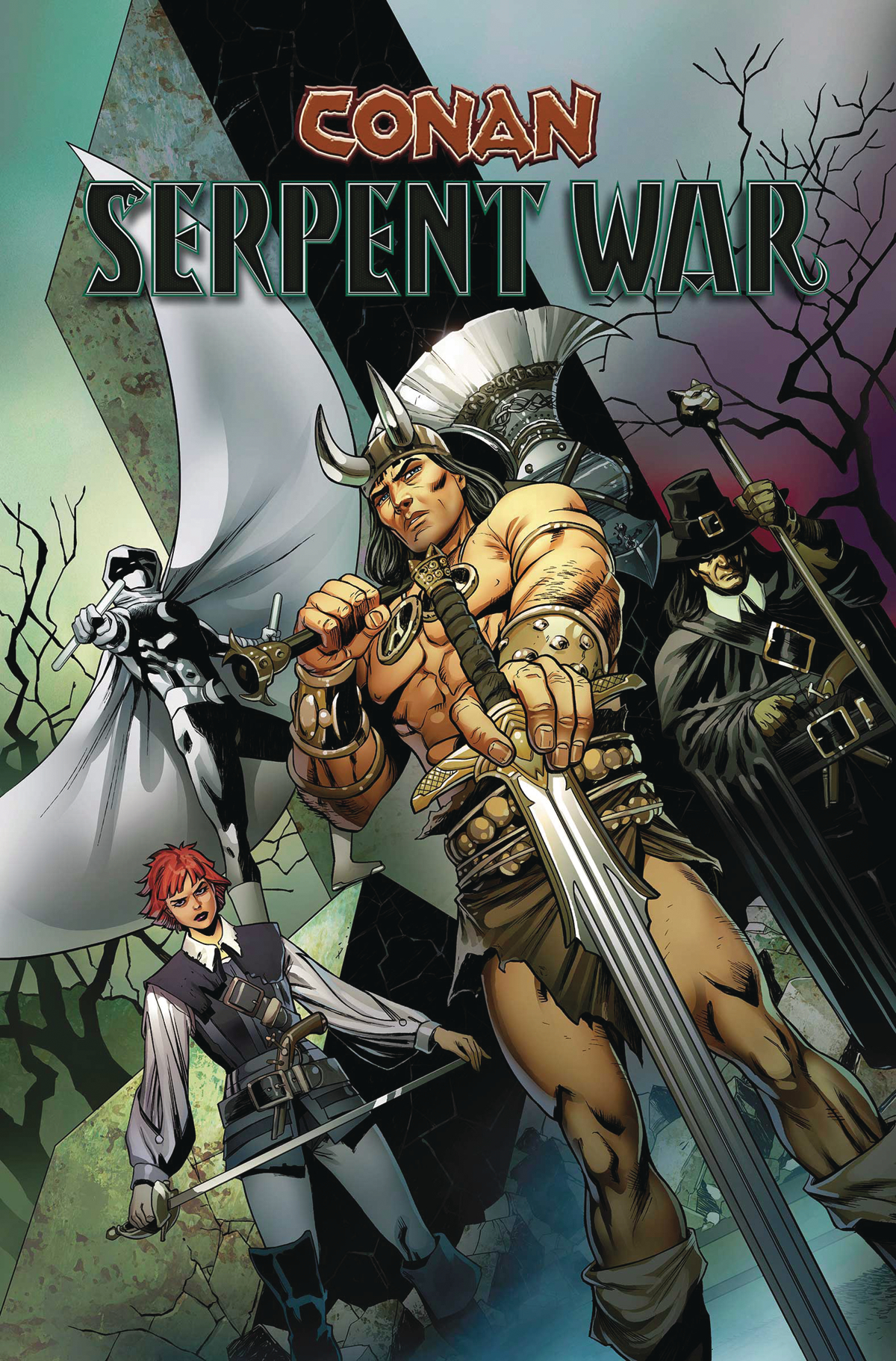 CONAN SERPENT WAR TP