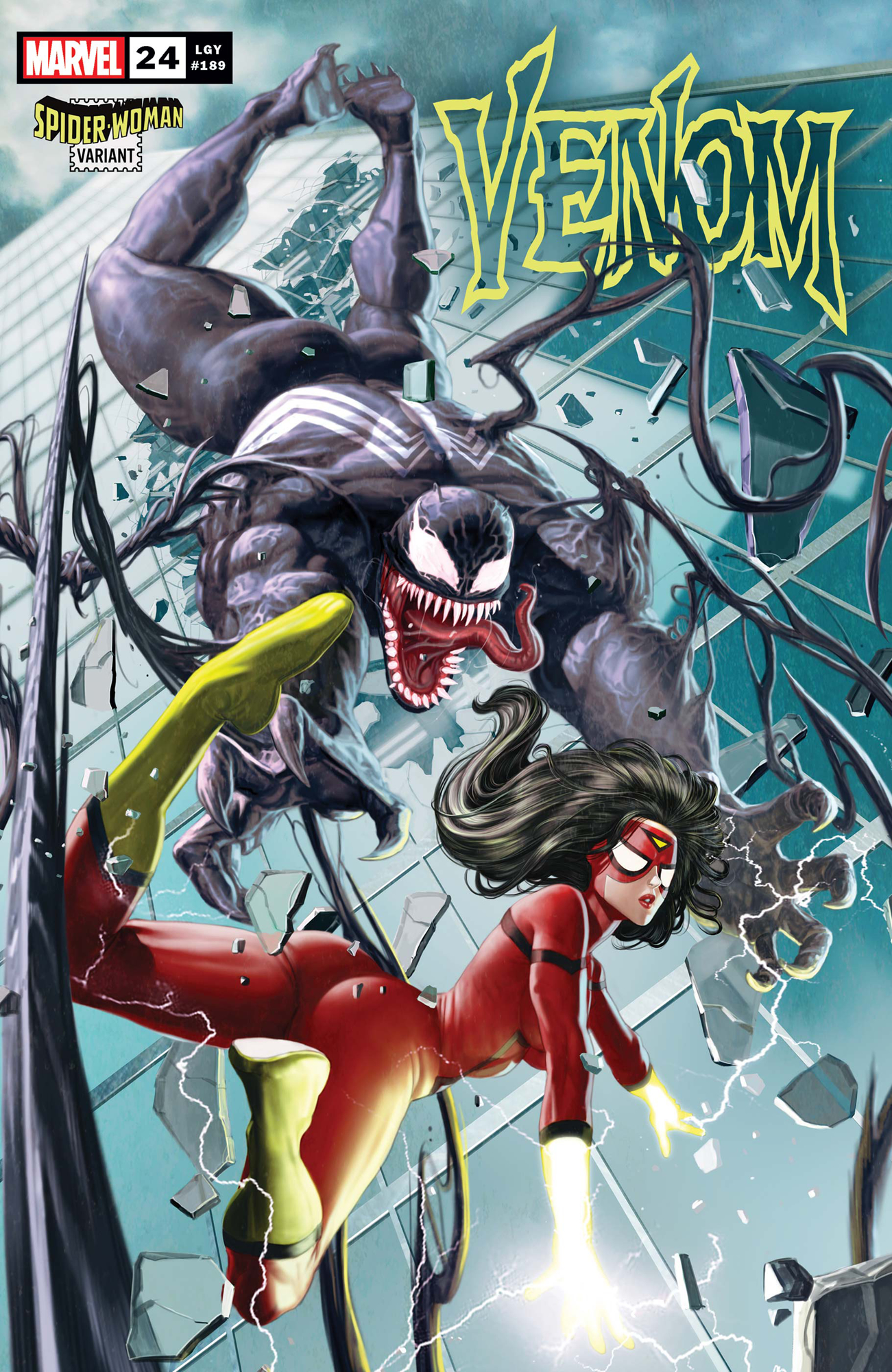 VENOM #24 ROCK-HE KIM SPIDER-WOMAN VAR