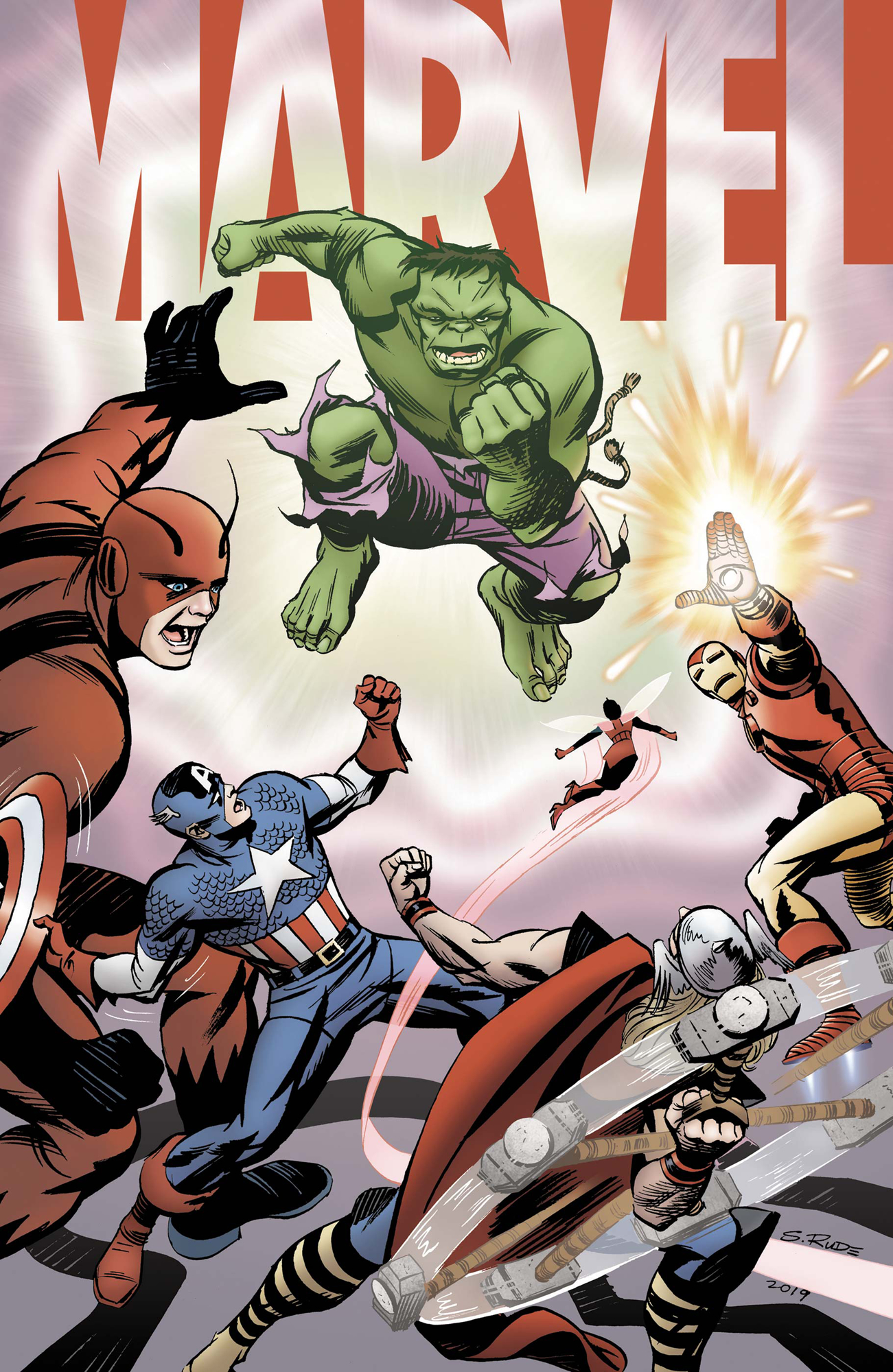 MARVEL #1 (OF 6) RUDE VAR