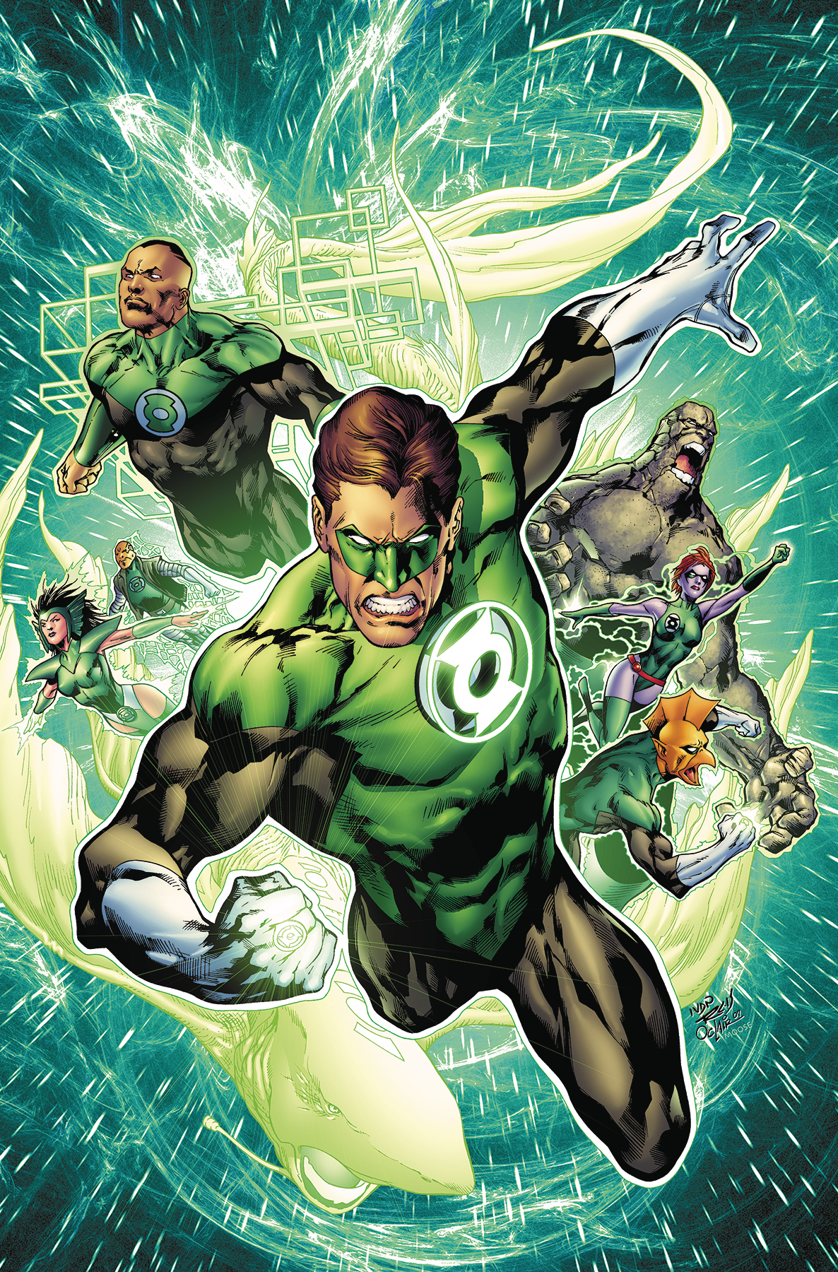 GREEN LANTERN BY GEOFF JOHNS TP BOOK 03 [#18-25+]