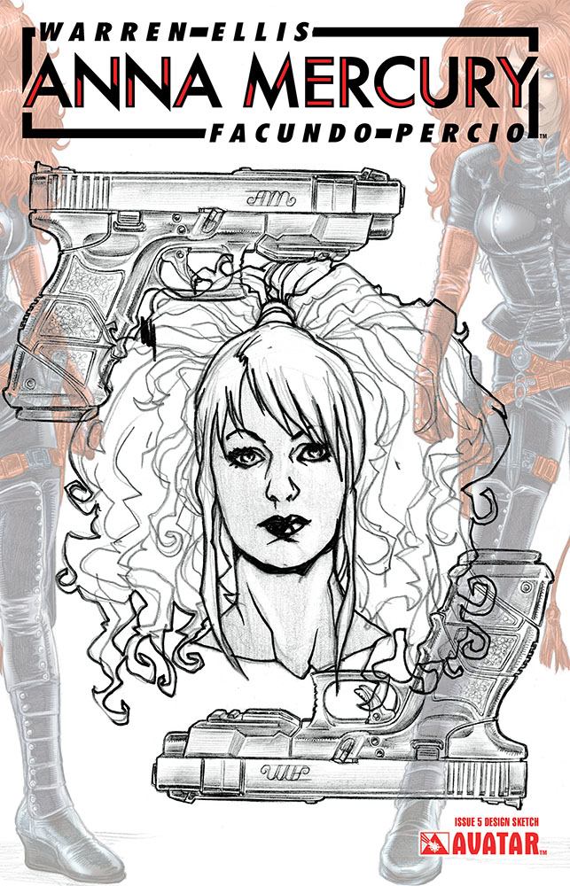 ANNA MERCURY #5 DESIGN SKETCH VAR (MR)