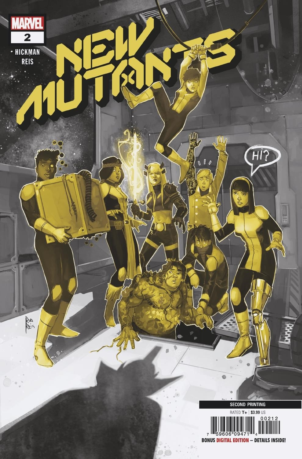 NEW MUTANTS #2 2ND PTG VAR DX