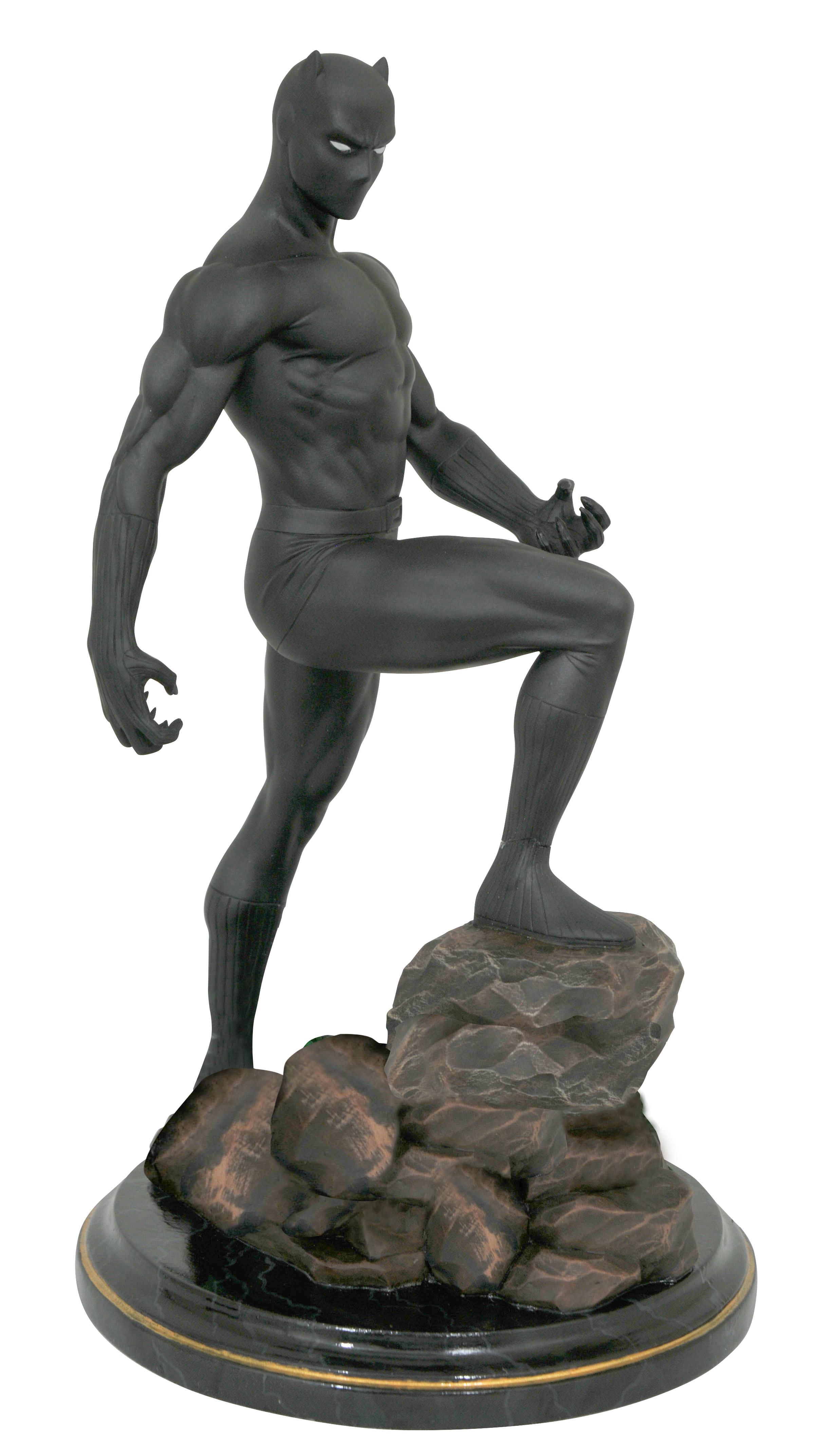 MARVEL PREMIER COLLECTION COMIC BLACK PANTHER STATUE