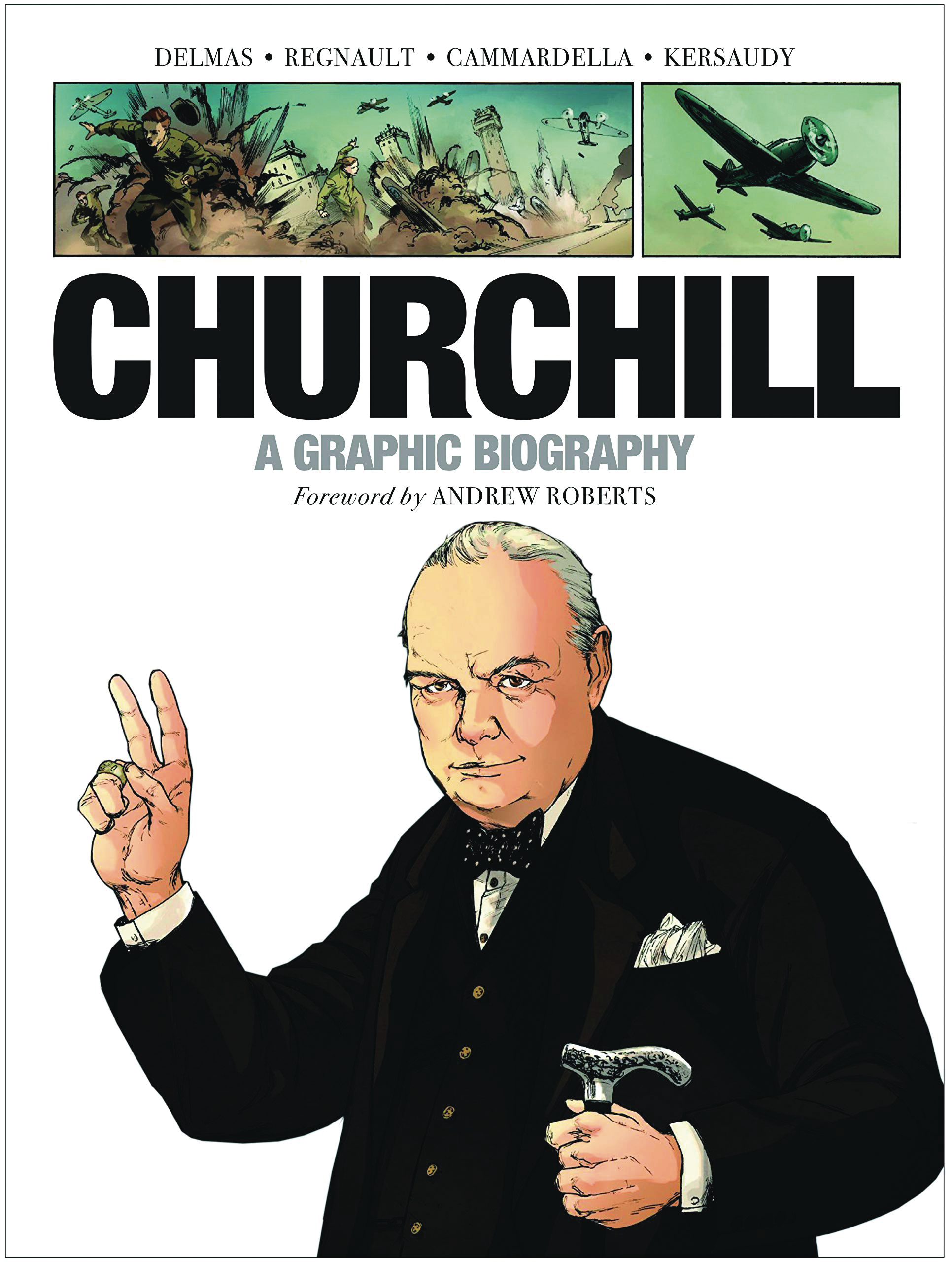 CHURCHILL GRAPHIC BIOGRAPHY GN