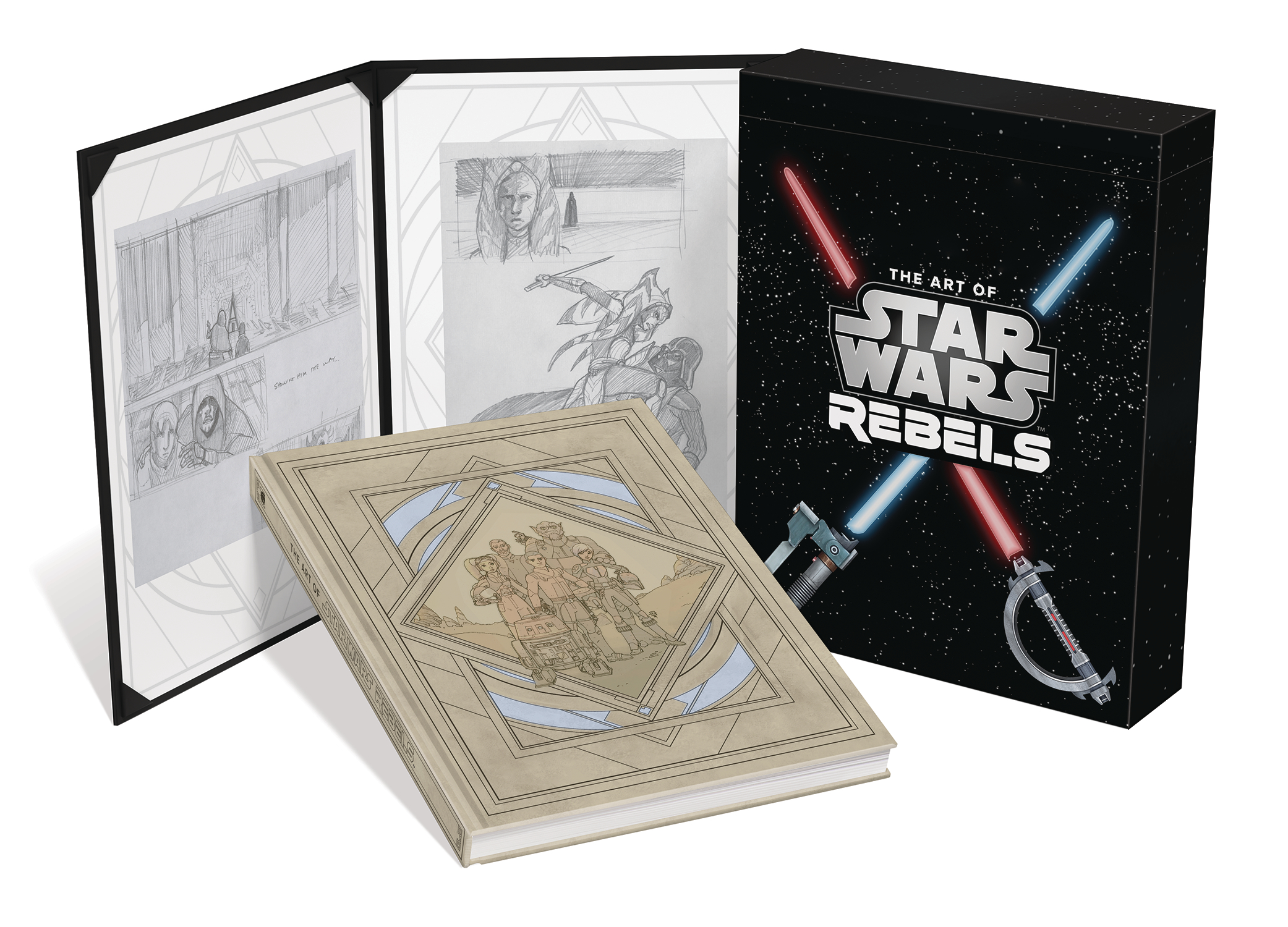 ART OF STAR WARS REBELS LTD ED HC