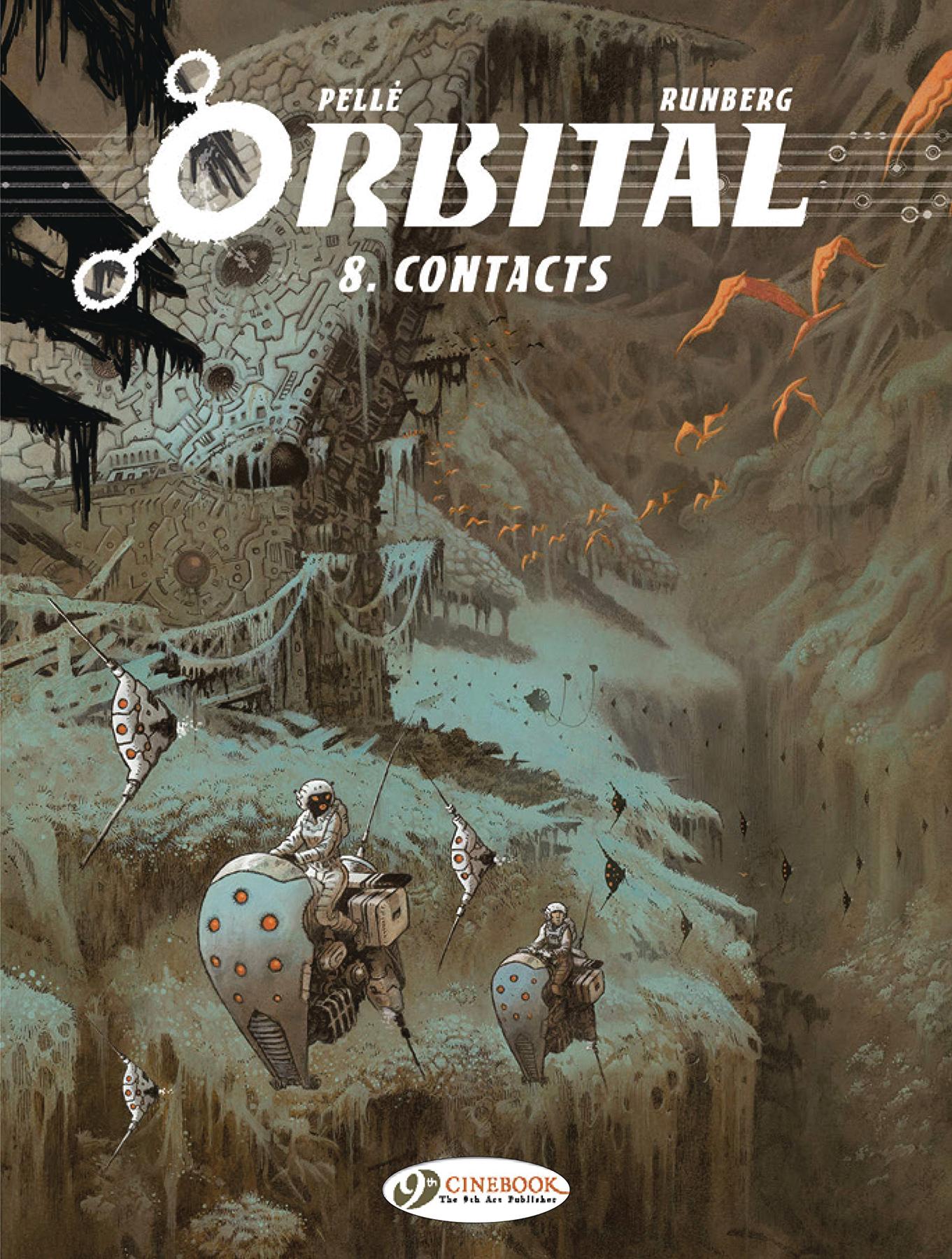 ORBITAL GN VOL 08 CONTACTS