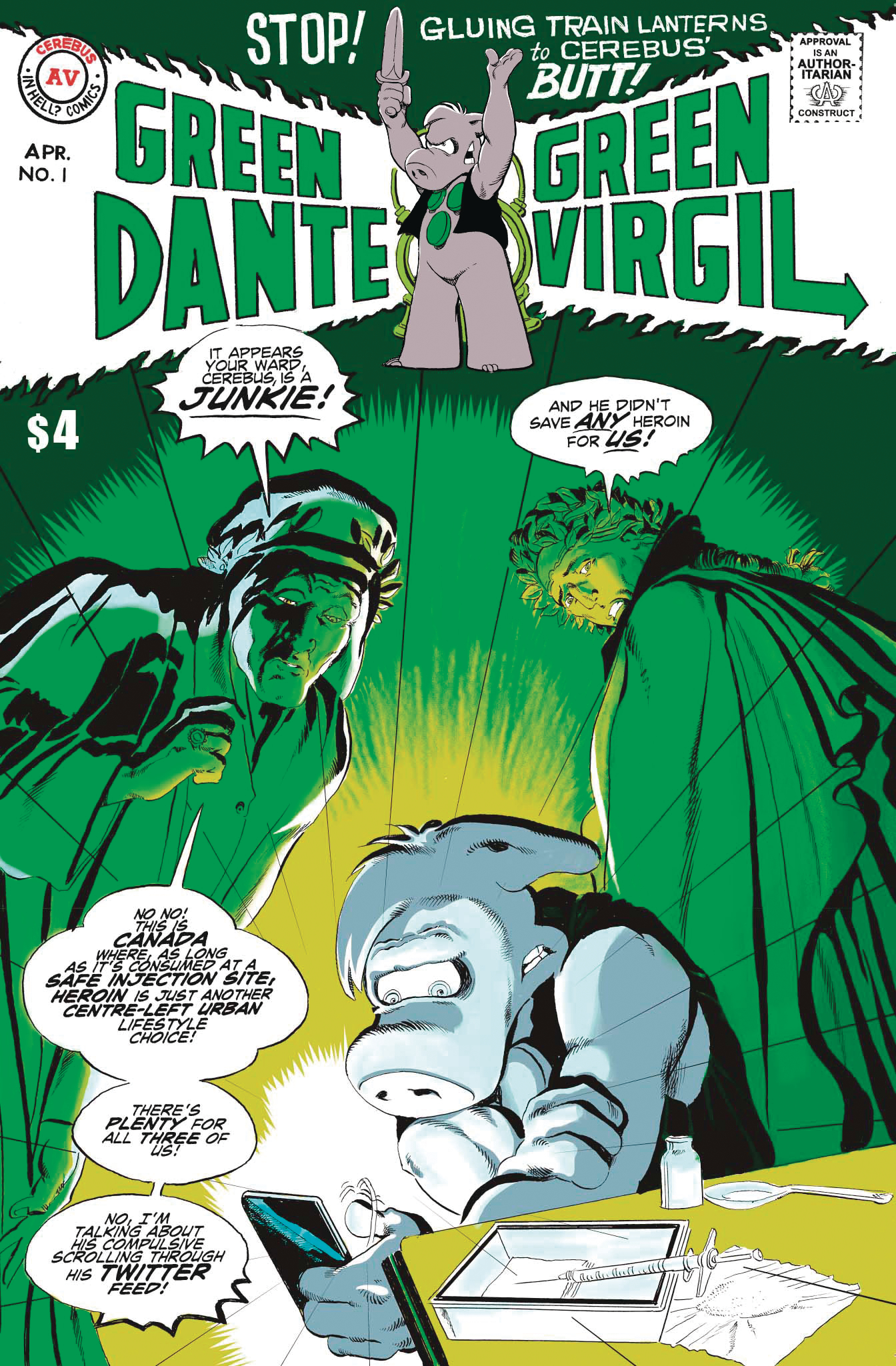 GREEN DANTE GREEN VIRGIL ONE SHOT