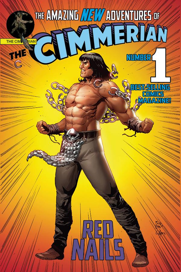 CIMMERIAN RED NAILS #1 CVR E CASAS SUPERMAN PARODY CVR (MR)