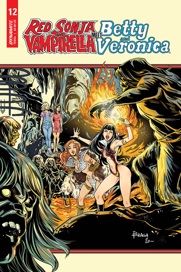 RED SONJA VAMPIRELLA BETTY VERONICA #12 CVR C BRAGA