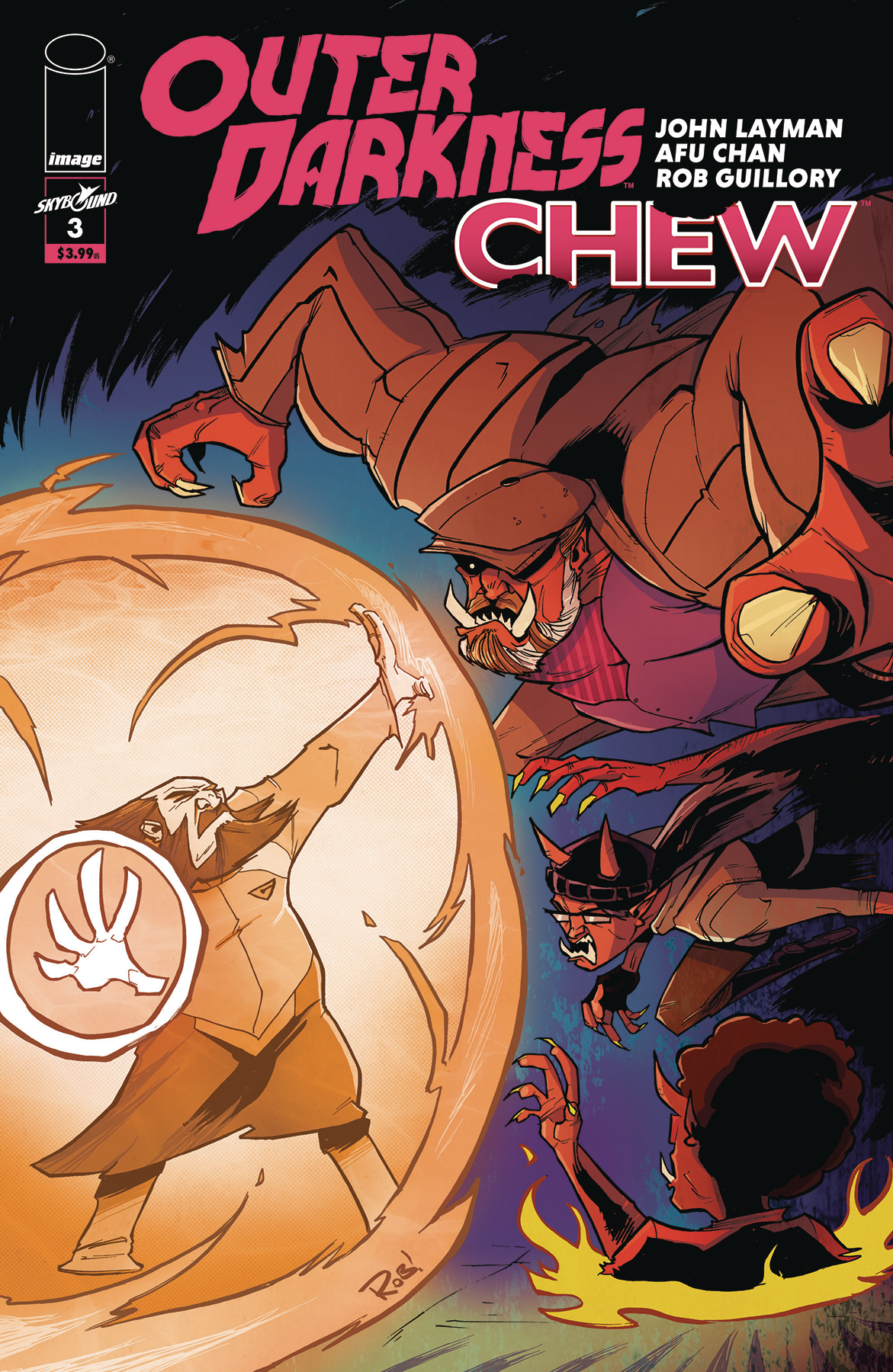 OUTER DARKNESS CHEW #3 (OF 3) CVR B GUILLORY (MR)