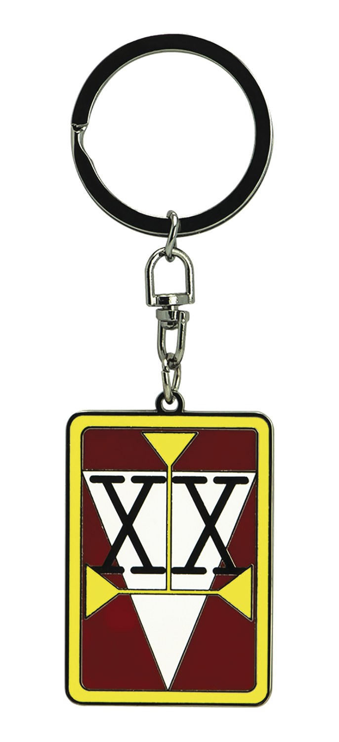 HUNTER X HUNTER HUNTER LICENSE KEYCHAIN