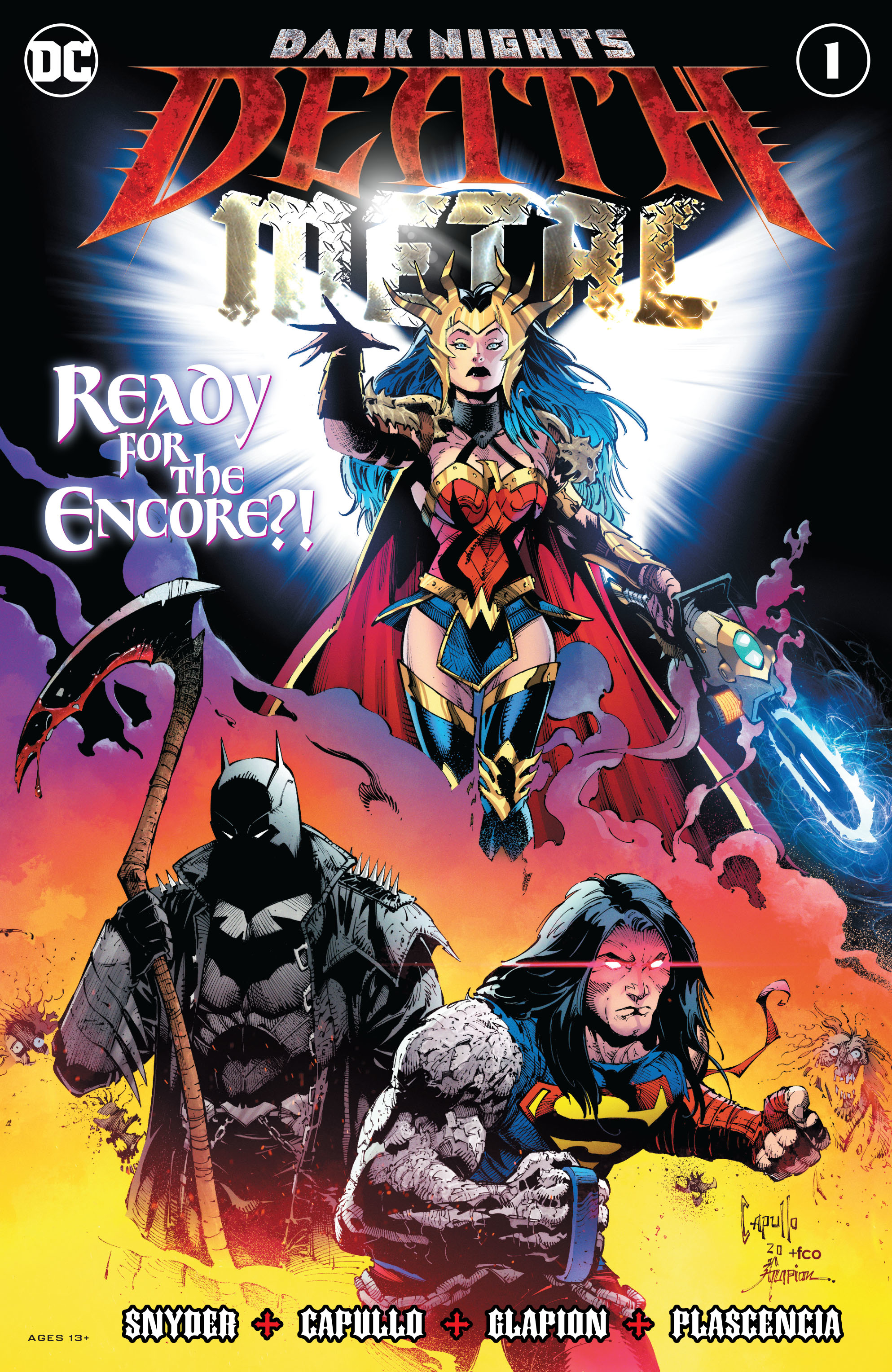 DC Comics DARK NIGHTS DEATH METAL #1 (OF 6)