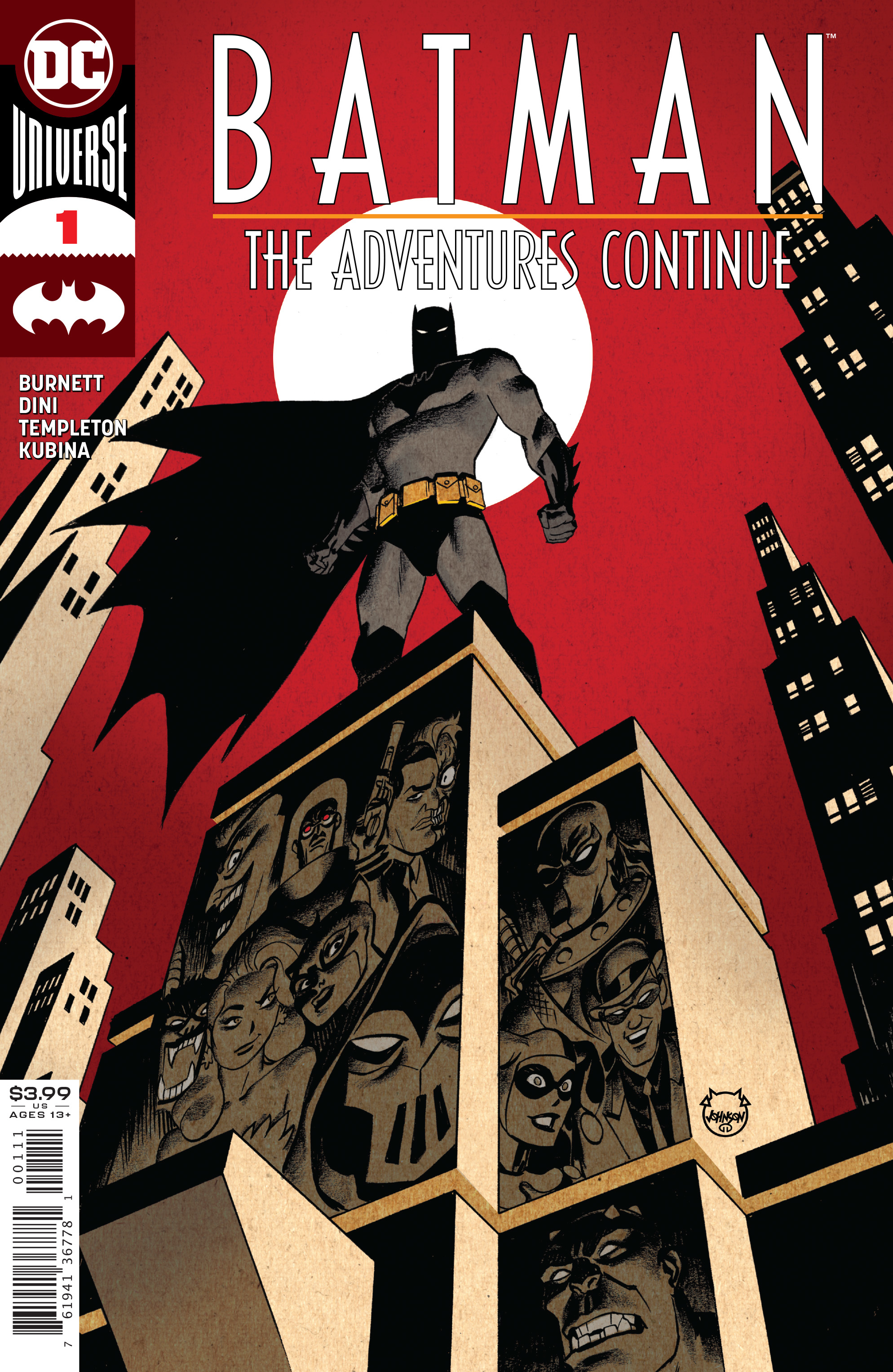 BATMAN THE ADVENTURES CONTINUE #1 (OF 6)