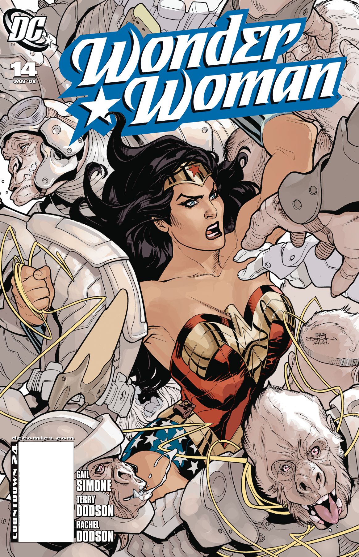DOLLAR COMICS WONDER WOMAN #14 2005