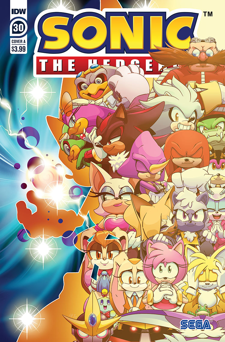 SONIC THE HEDGEHOG #30 CVR A THOMAS