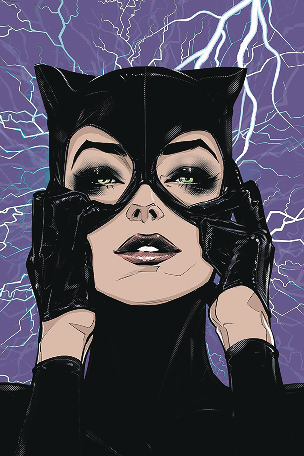 DF CATWOMAN 80TH ANNIVERSARY SPECTACULAR #1 BALENT SGN