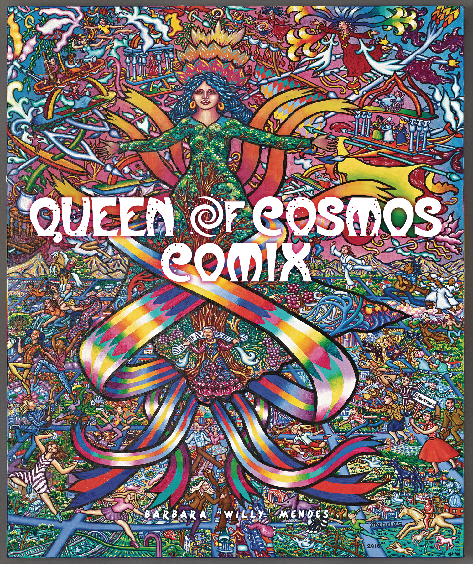 QUEEN OF COSMOS COMIX TP VOL 01 (MR)