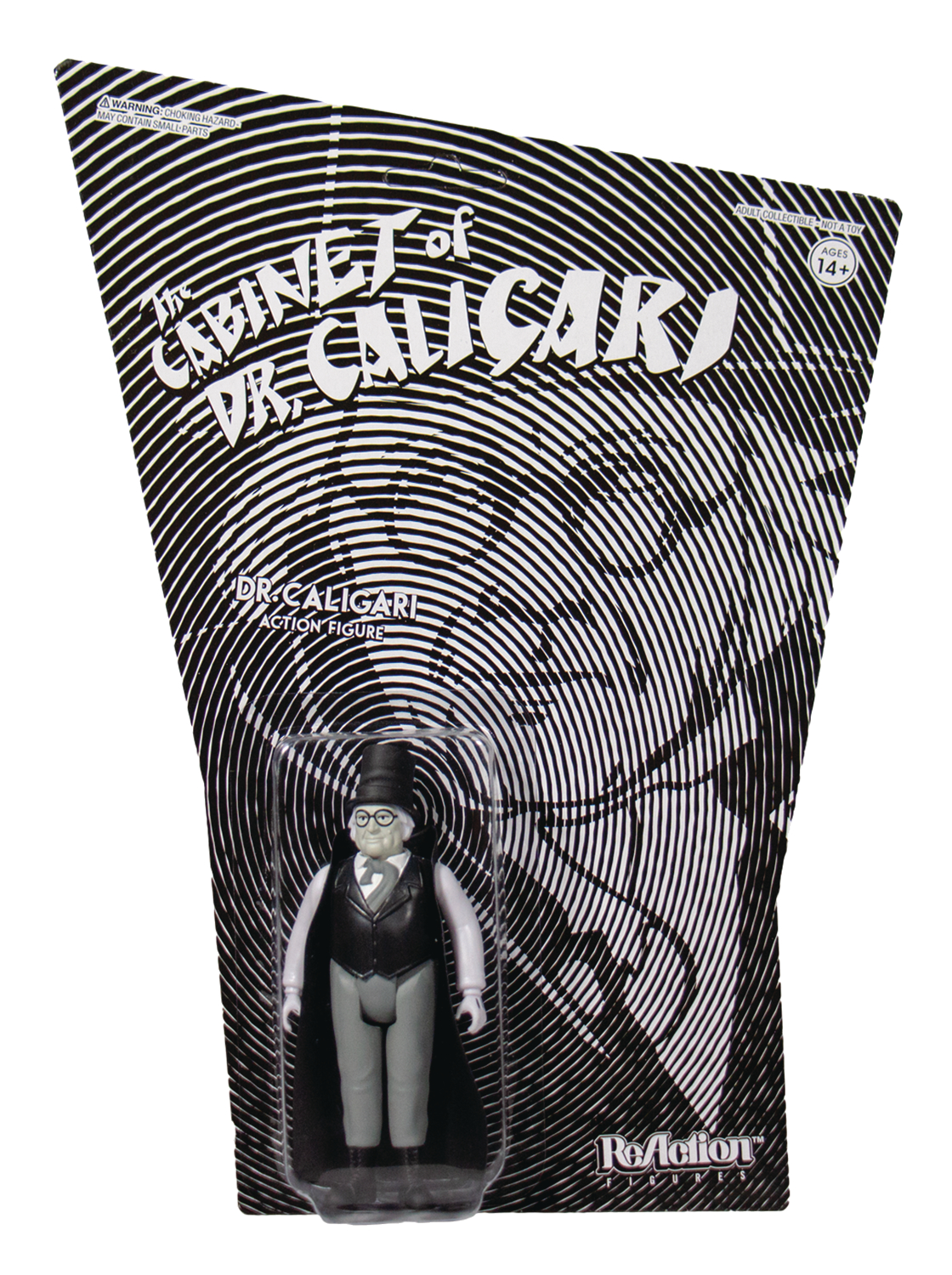 CABINET OF DR CALIGARI DR CALIGARI REACTION FIG