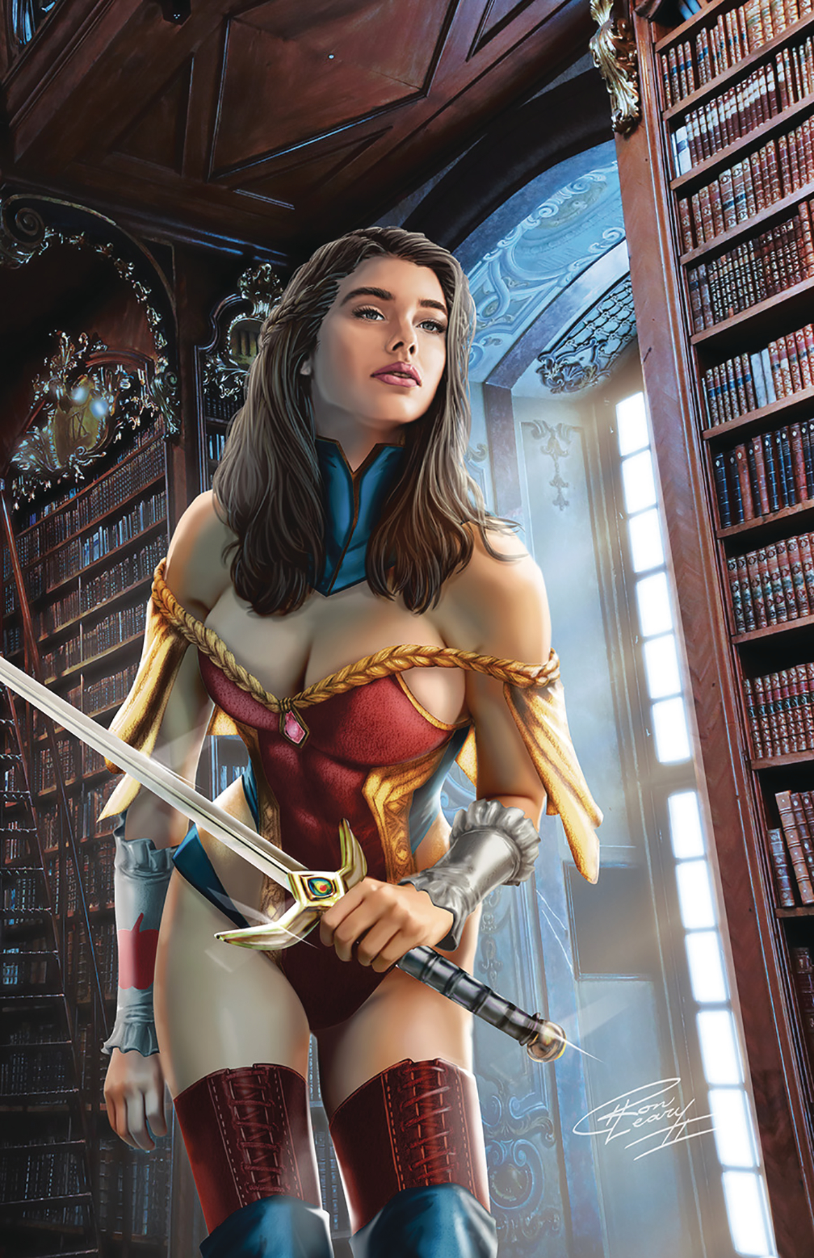 GRIMM FAIRY TALES #40 CVR C LEARY JR (RES)