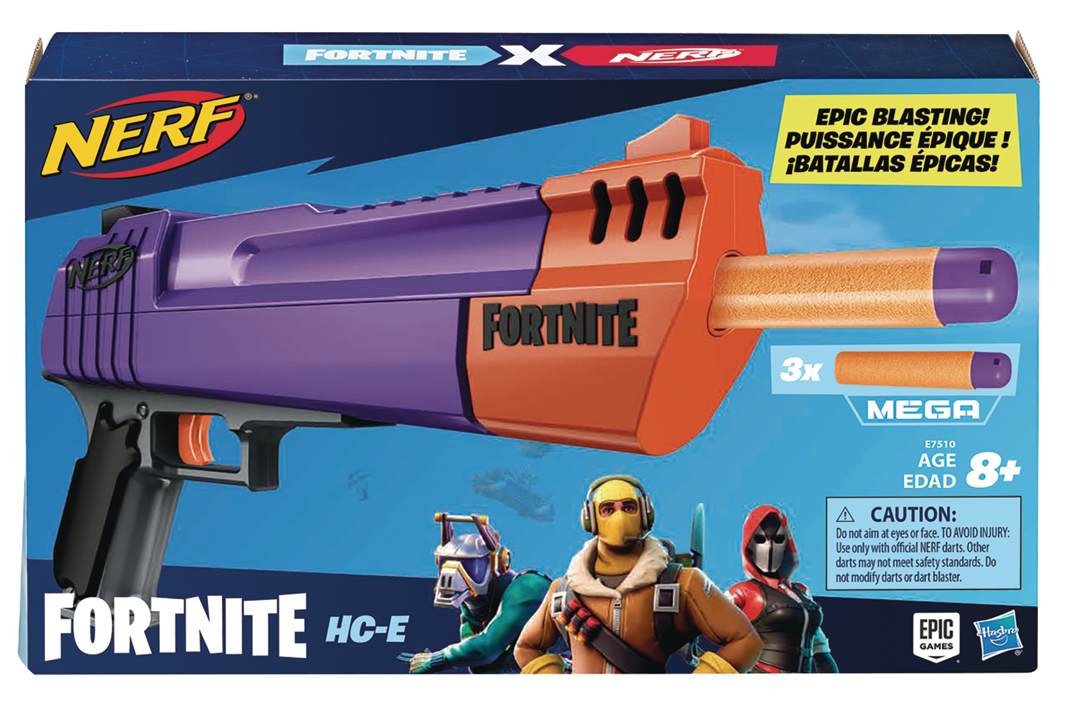 NERF FORTNITE HC-E BLASTER CS