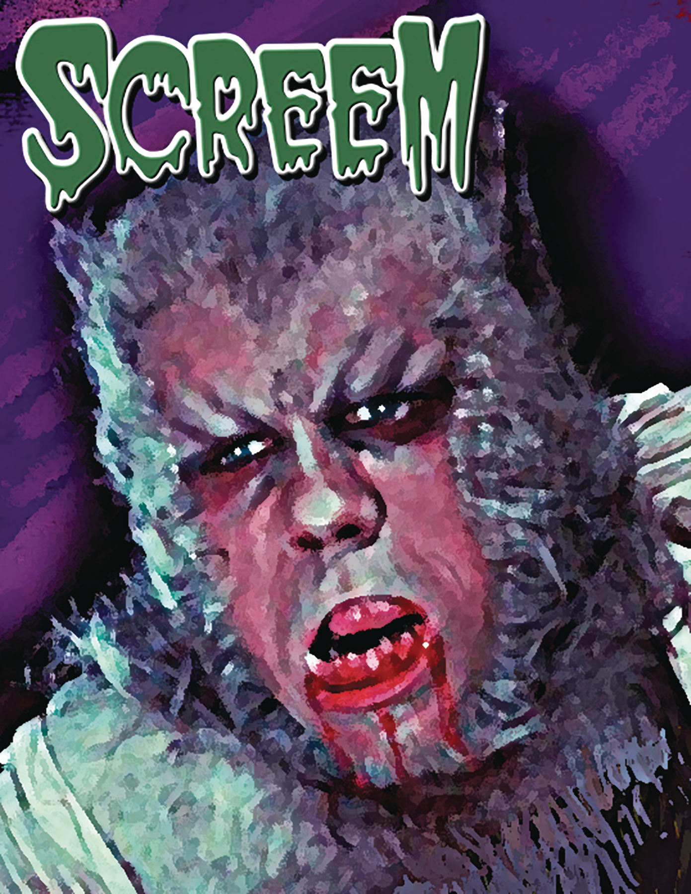 SCREEM #39 WEREWOLF NEWSSTAND ED