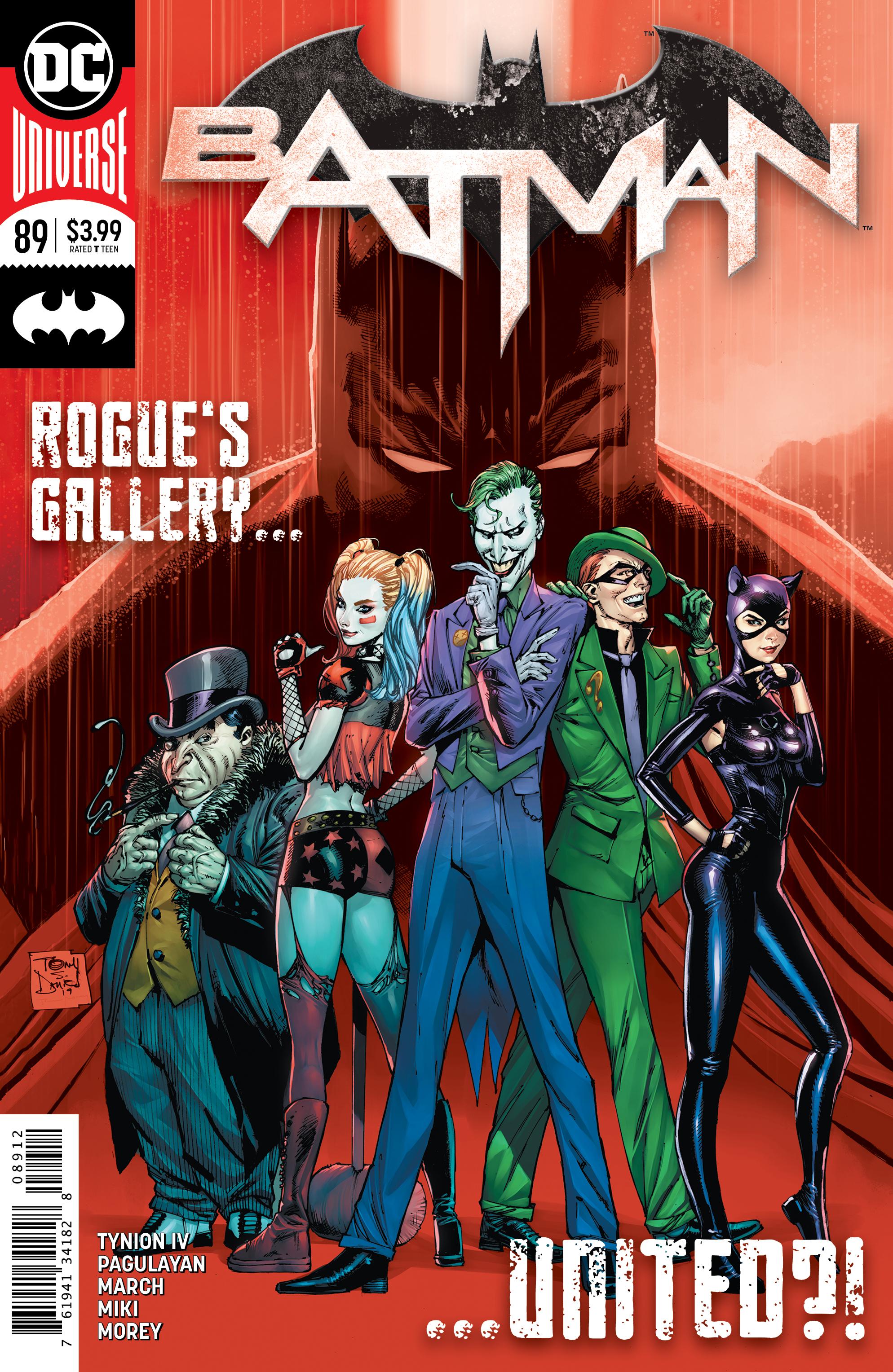 BATMAN #89 2ND PTG