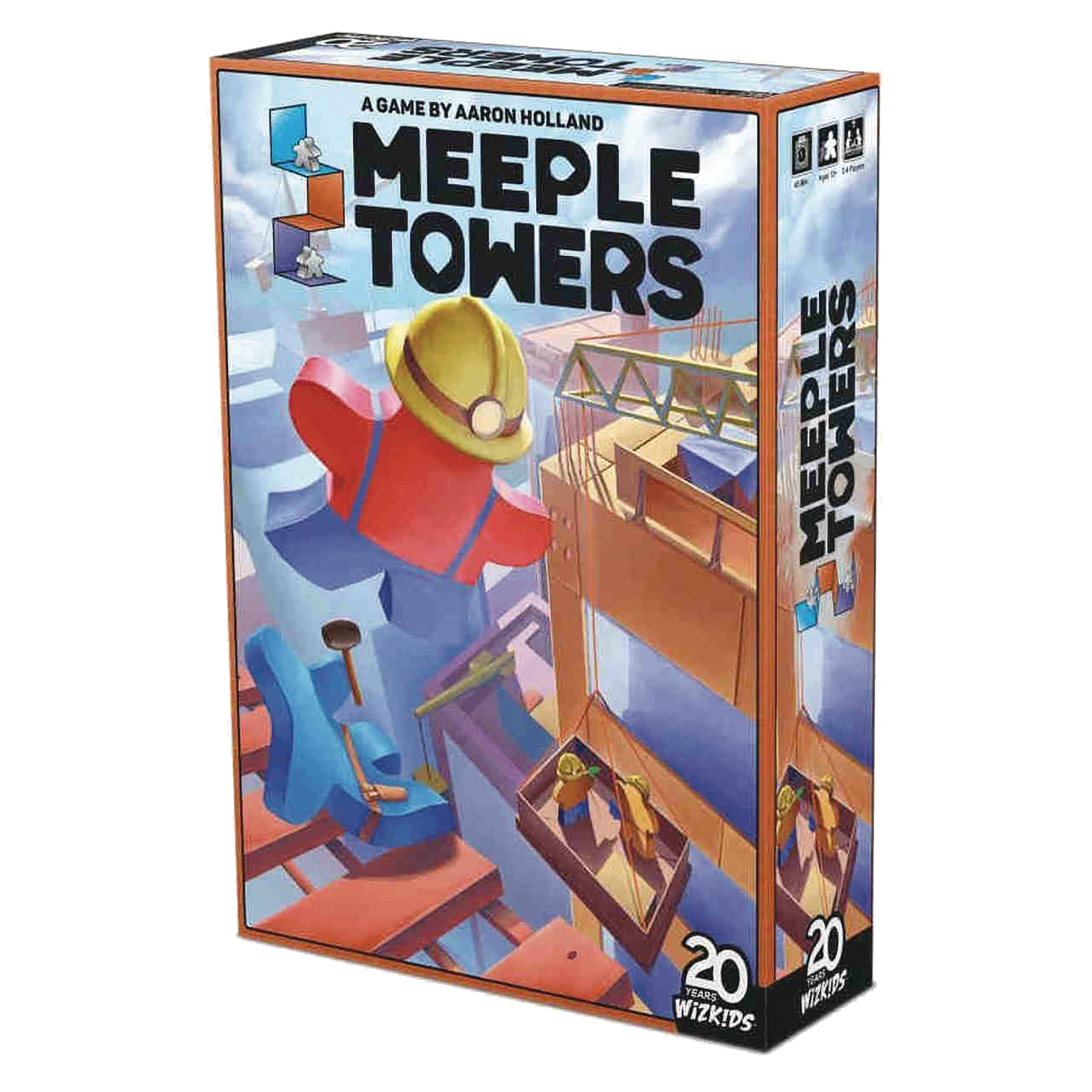 MEEPLE TOWERS BOARD GAME