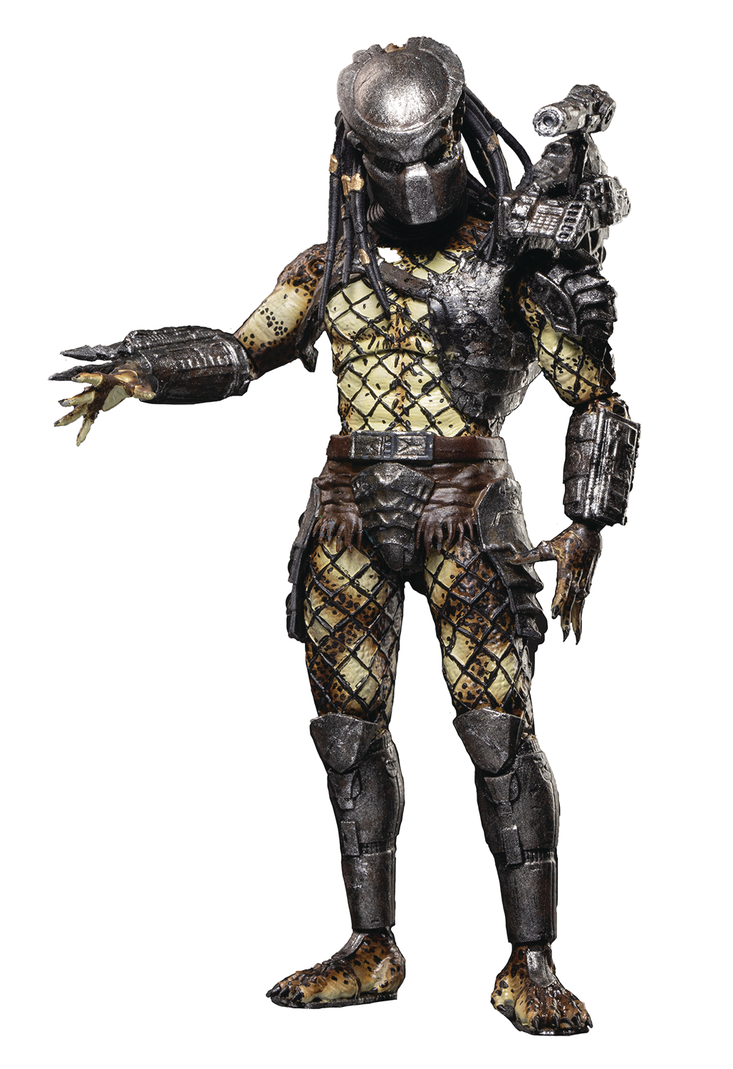PREDATORS ARMORED CRUCIFIED PREDATOR PX 1/18 SCALE FIG