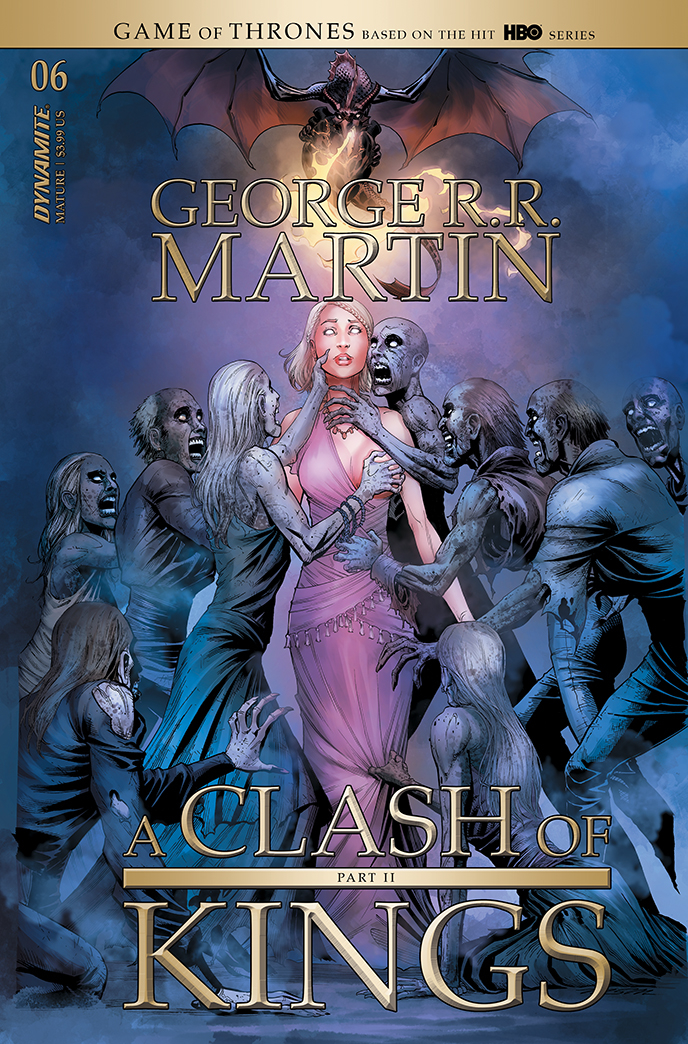 GEORGE RR MARTIN A CLASH OF KINGS #6 CVR A MILLER (MR)