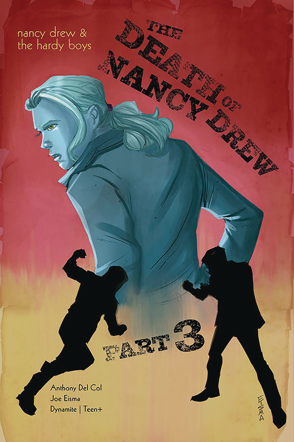 NANCY DREW & HARDY BOYS DEATH OF NANCY DREW #3 CVR A EISMA