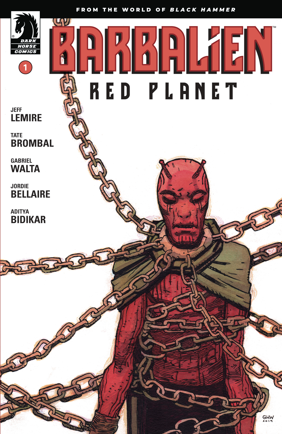 BARBALIEN RED PLANET #1 (OF 5) CVR A WALTA