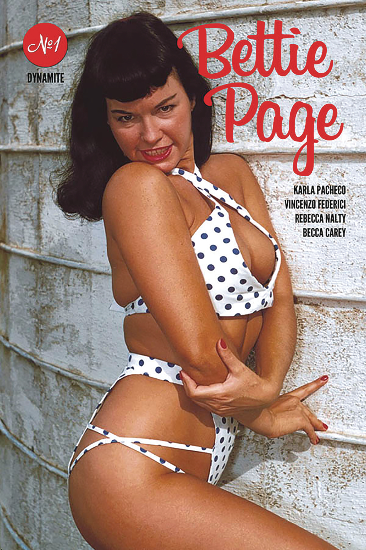 BETTIE PAGE #1 CVR E PHOTO