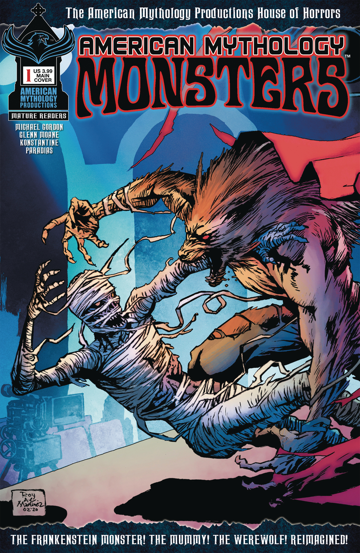 AMERICAN MYTHOLOGY MONSTERS #1 CVR A MARTINEZ (MR)