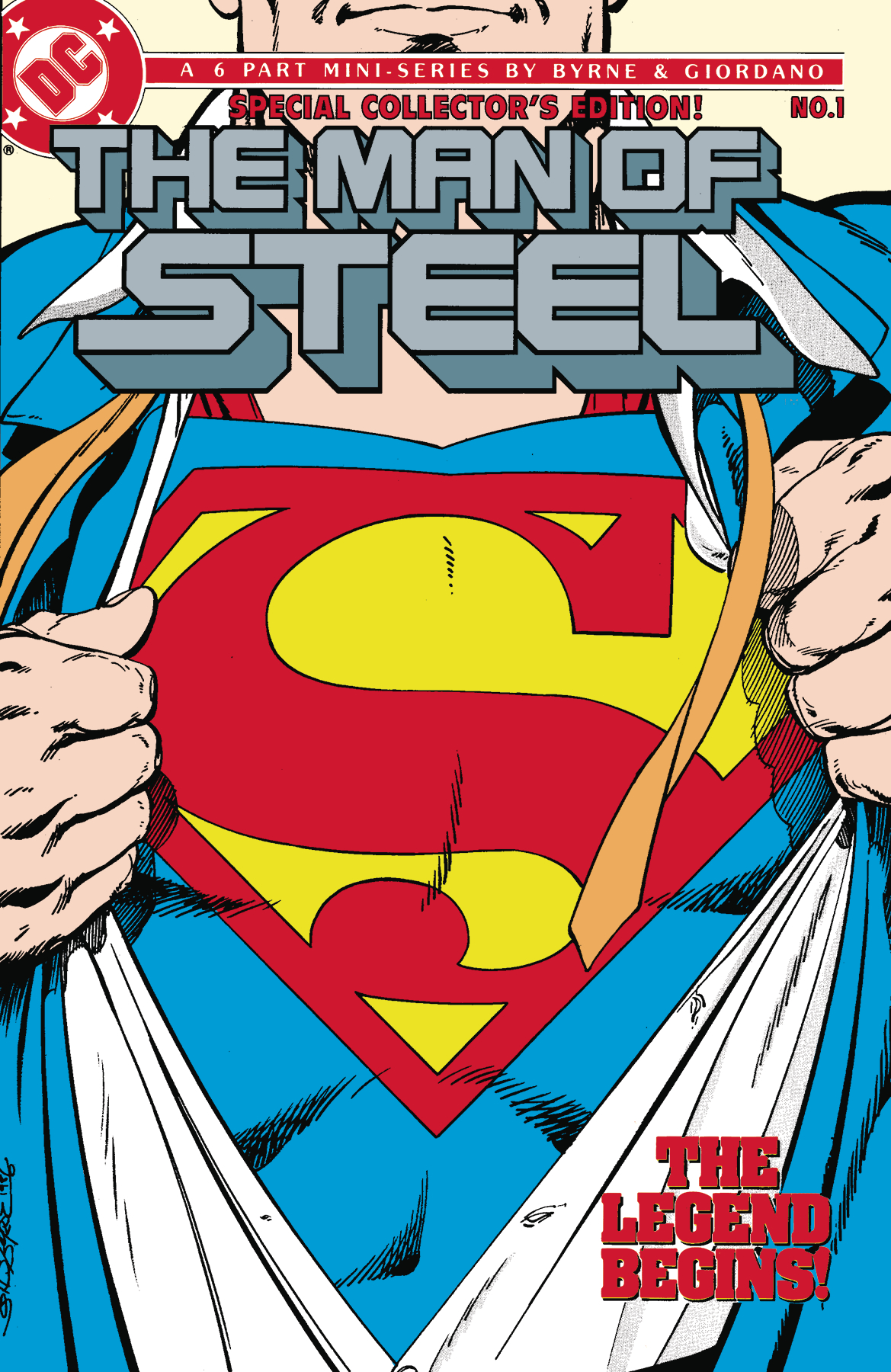 SUPERMAN THE MAN OF STEEL HC VOL 01