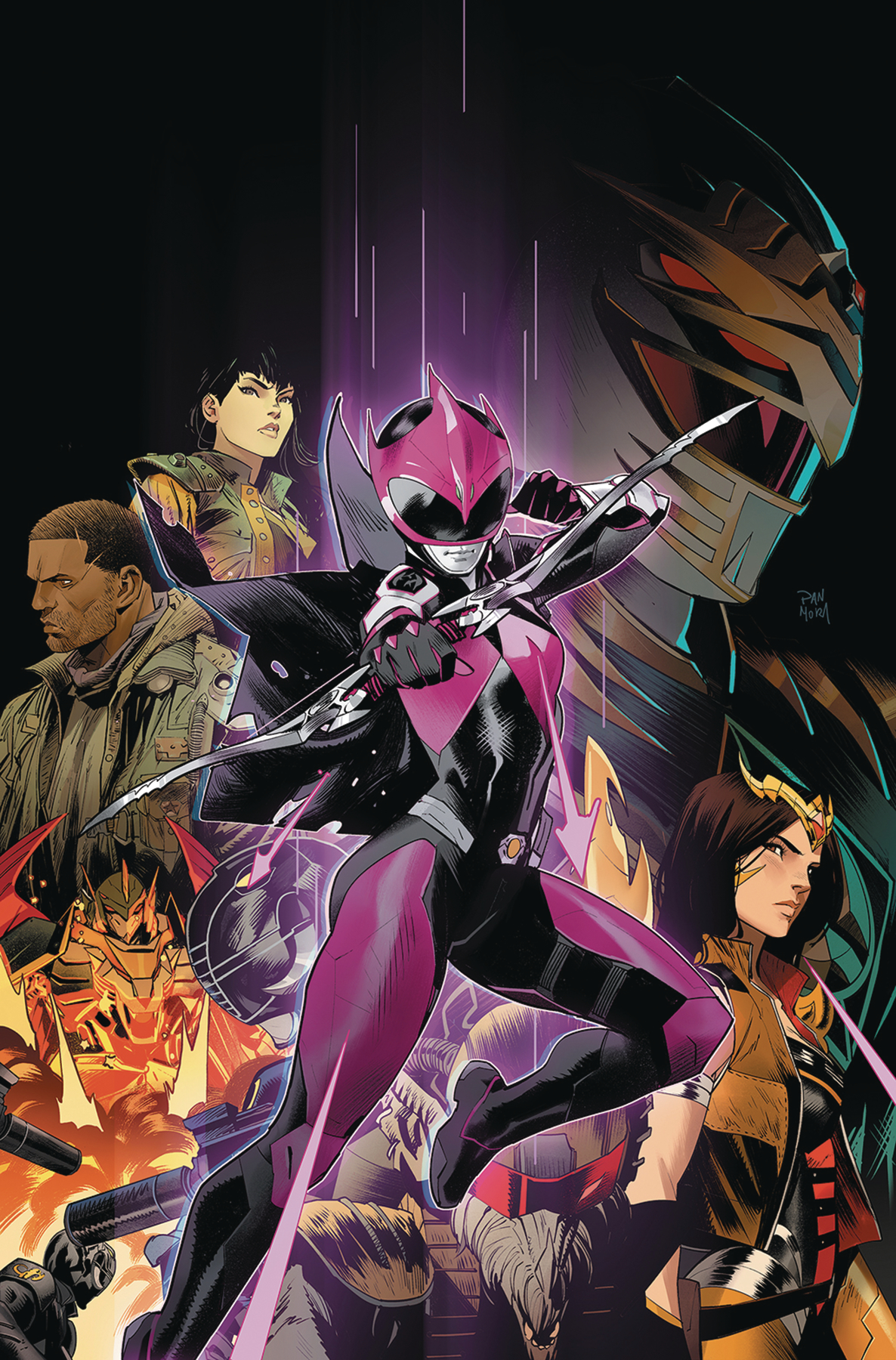 POWER RANGERS RANGER SLAYER #1 CVR A MAIN