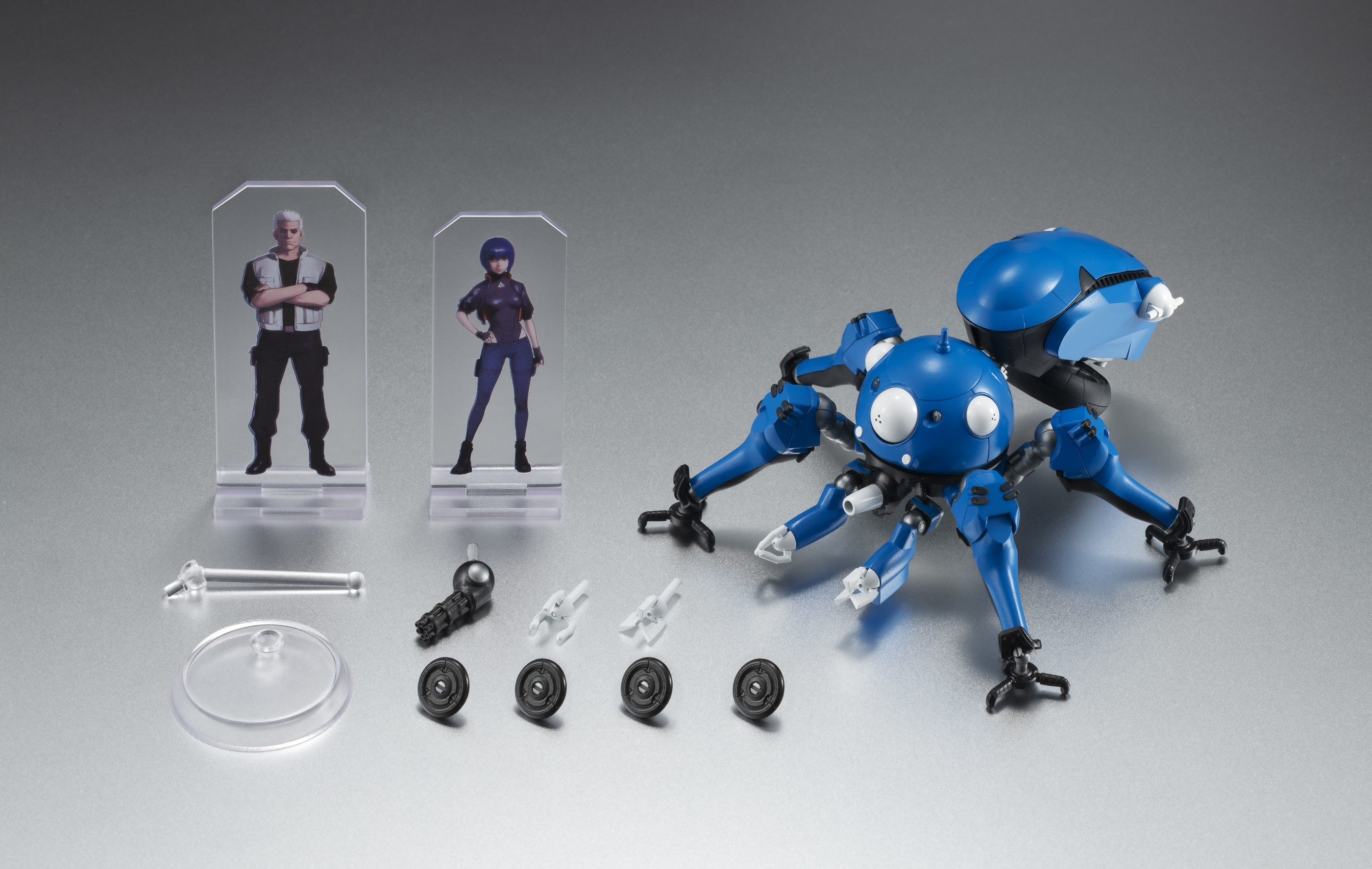 Feb208640 Ghost In The Shell Sac 2045 Tachikoma Robot Spirits Af Previews World