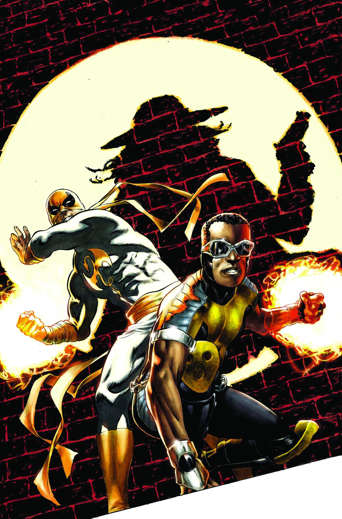 power man and iron fist comic - HD1185×1800