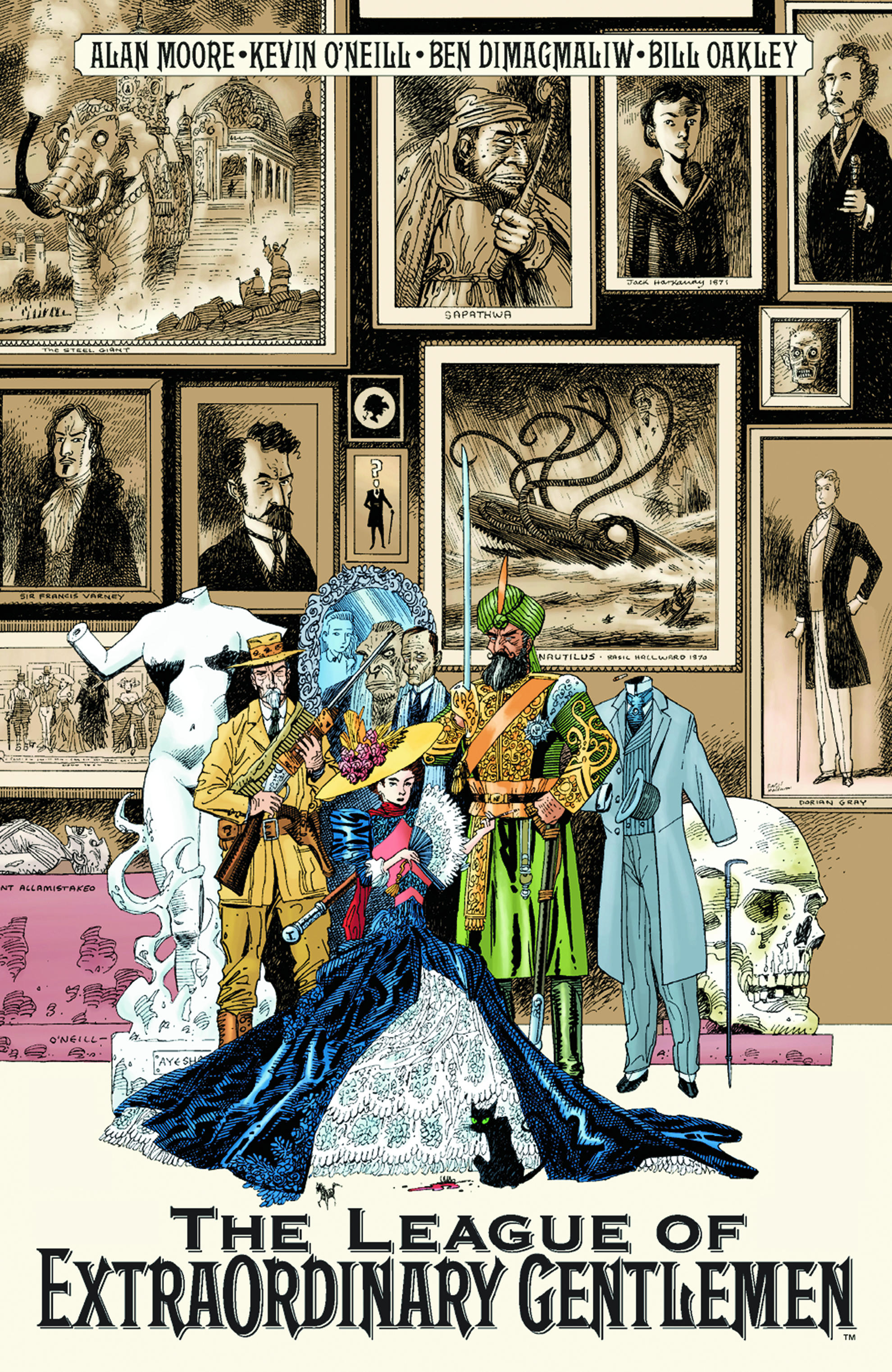 annotations to league of extraordinary gentlemen volume - HD 1980×3043