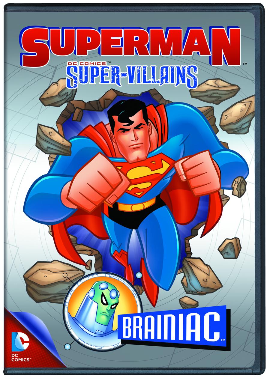 MAY132358 - SUPERMAN SUPER VILLAINS BRAINIAC DVD ...
