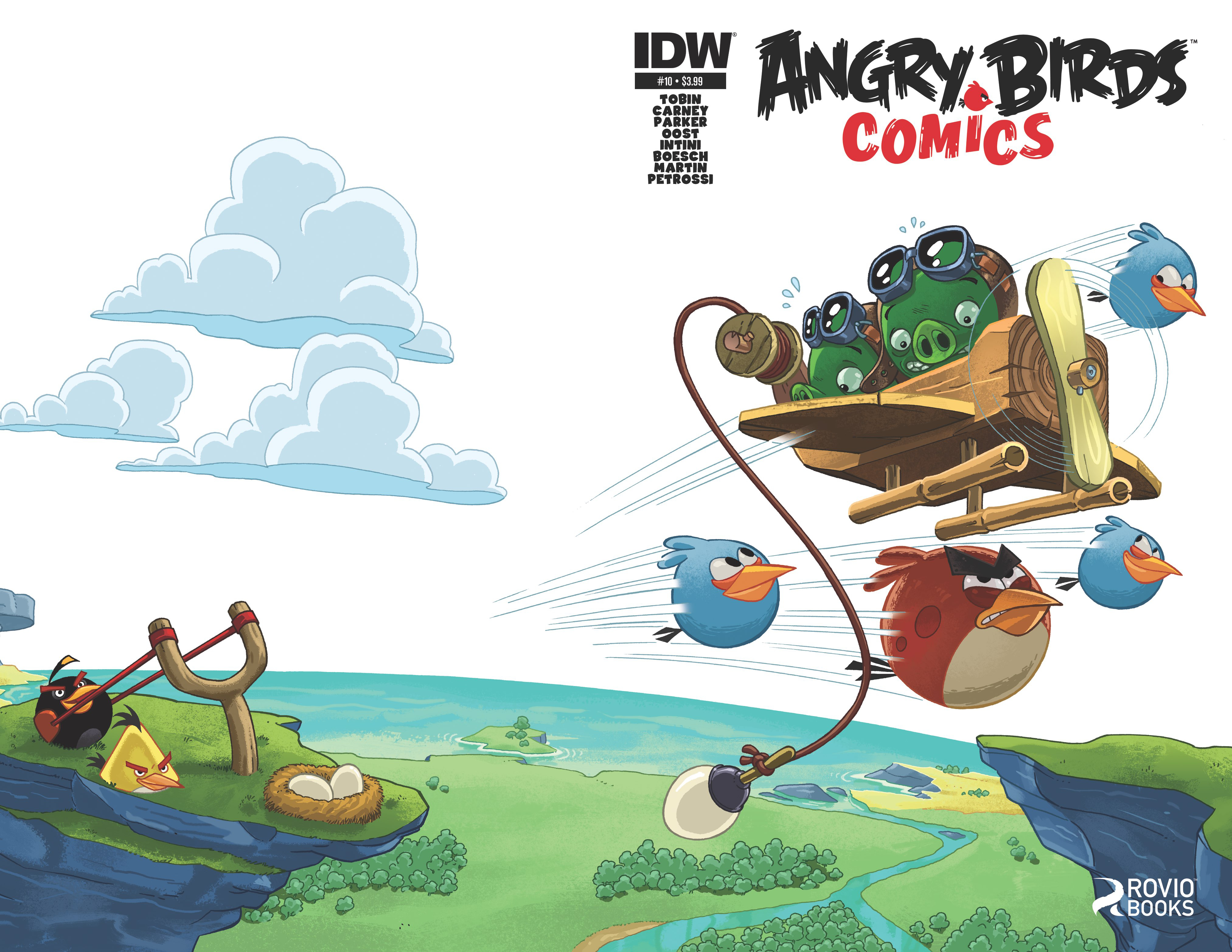 FEB150335 - ANGRY BIRDS #10 - Previews World