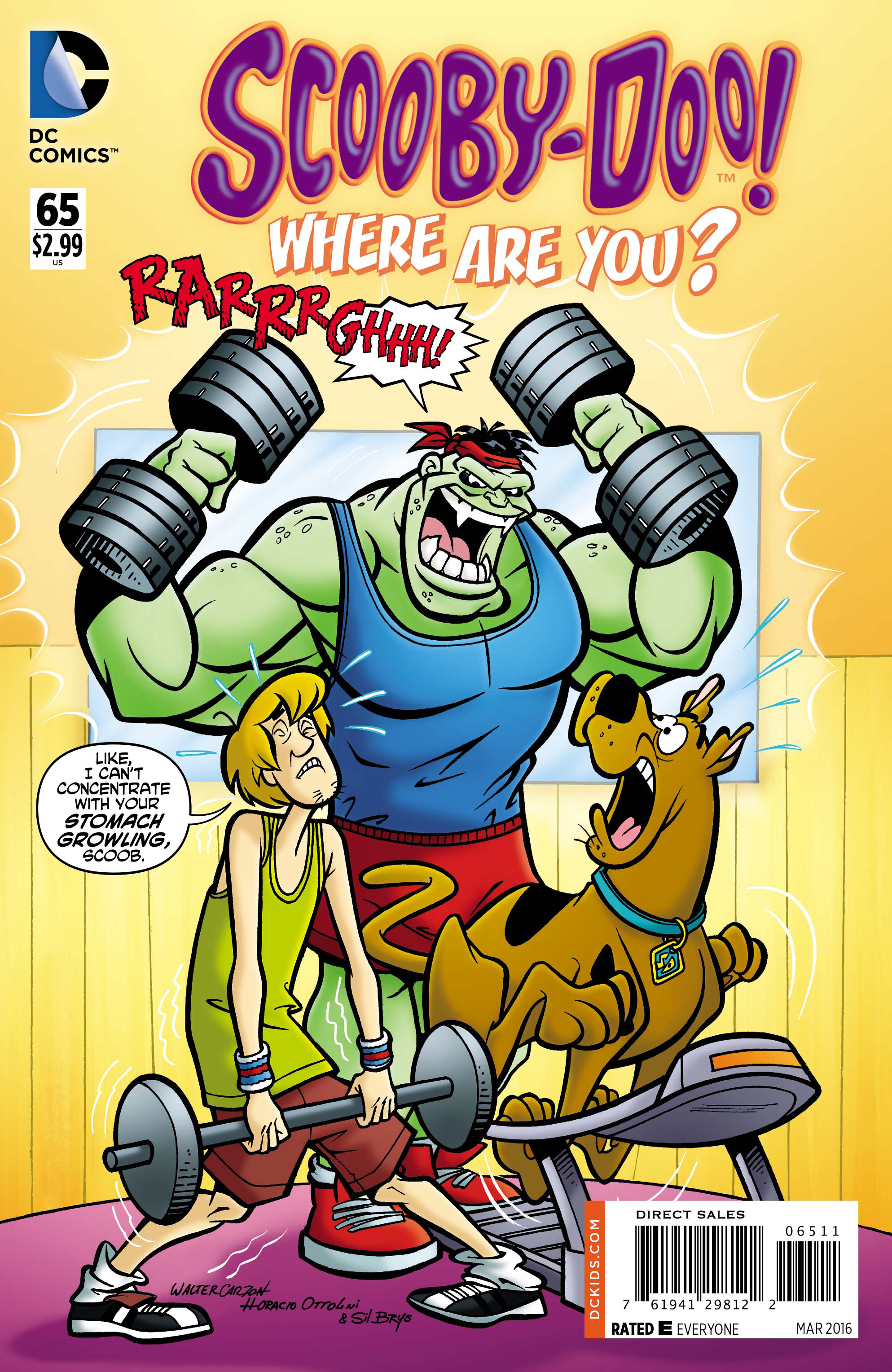 NOV150259 - SCOOBY DOO WHERE ARE YOU #65 - Previews World