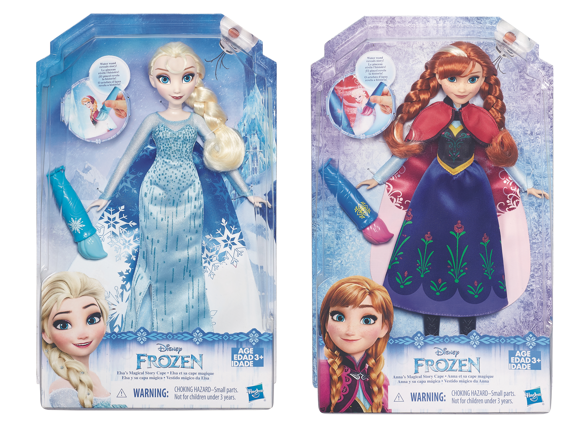 Apr168778 Disney Frozen Color Change Fashion Doll Asst