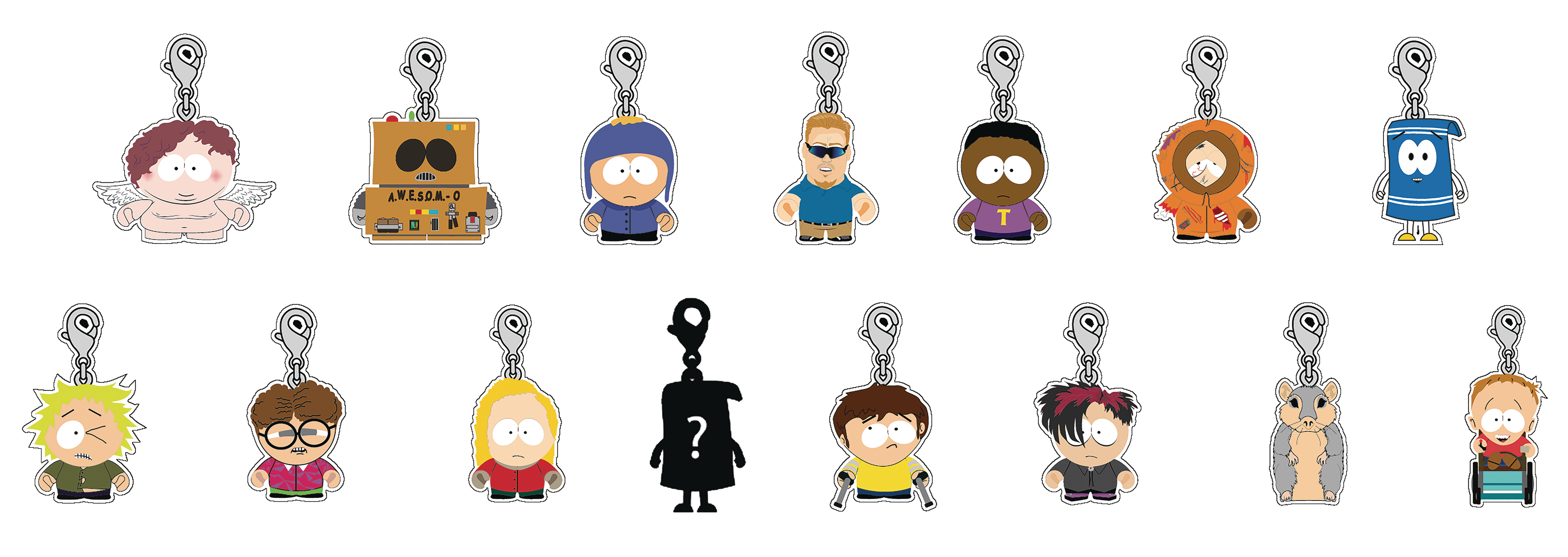 Jimmy Keychain Series 2 by Kidrobot South Park Zipper Pull