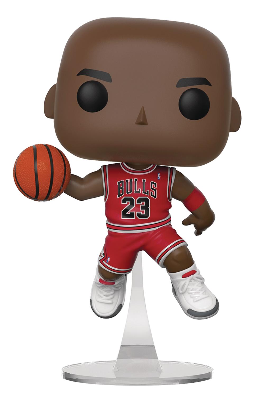 Dec188013 Pop Nba Bulls Michael Jordan Vinyl Figure