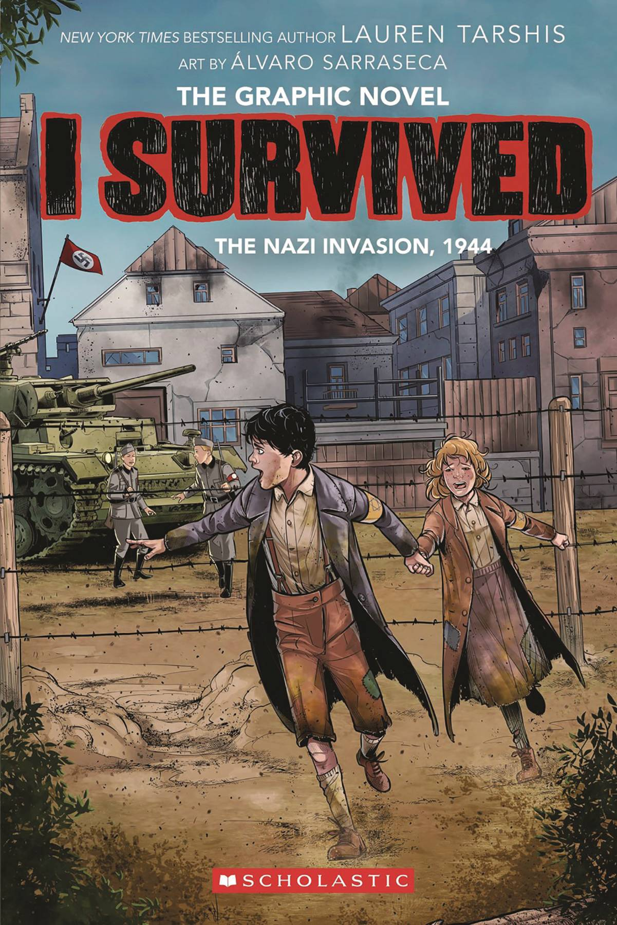 survived invasion nazi 1944 graphix tpb comicbookrealm gn vol previews 1916 attack previewsworld shark