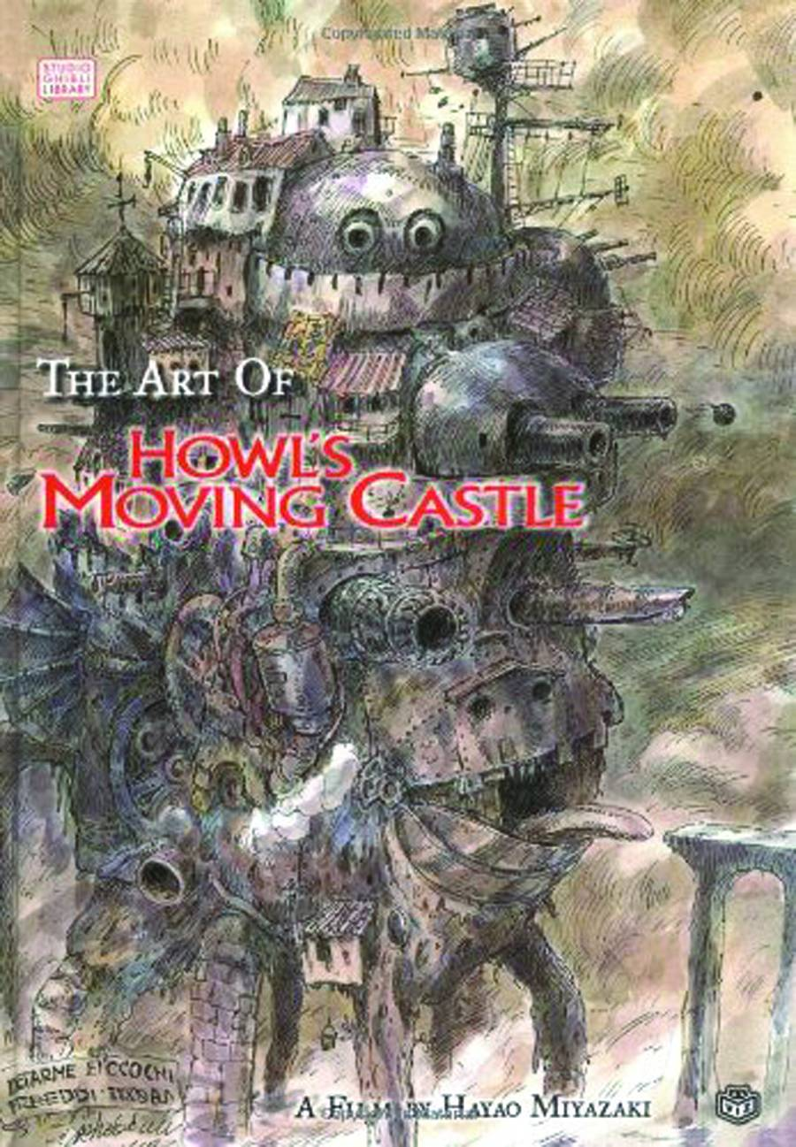 ART OF HOWLS MOVING CASTLE HC